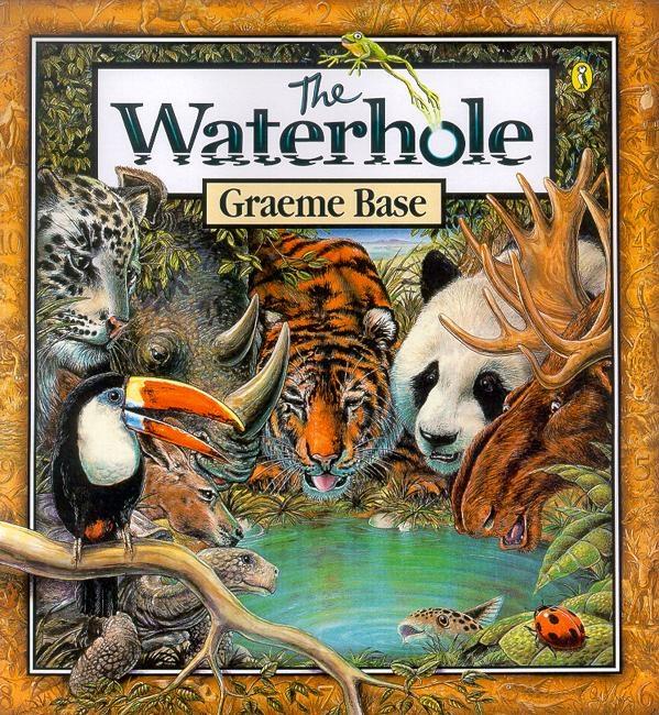 The Waterhole by Graeme Base - Penguin Books Australia