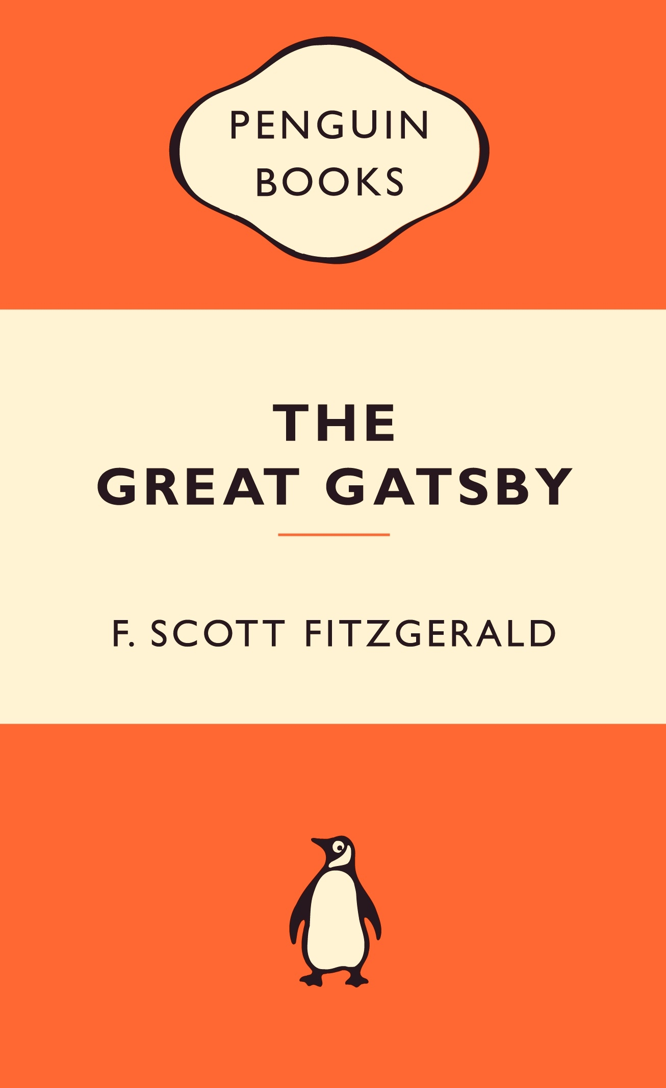 the great gatsby  popular penguins by f scott fitzgerald