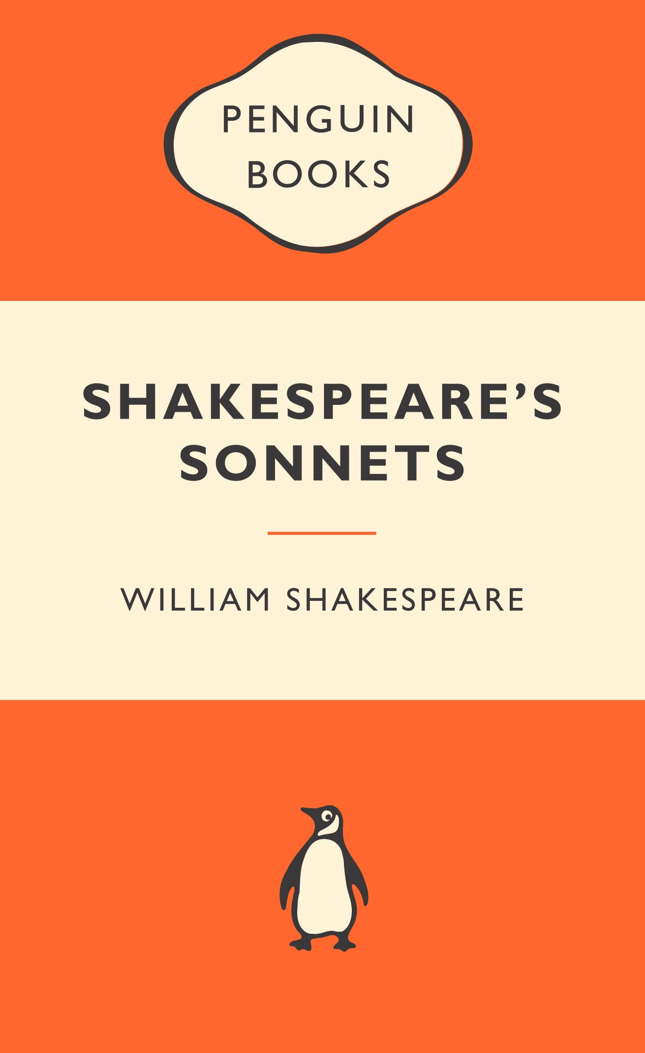 Original Penguin Book Covers : Shakespeare s sonnets popular penguins by william