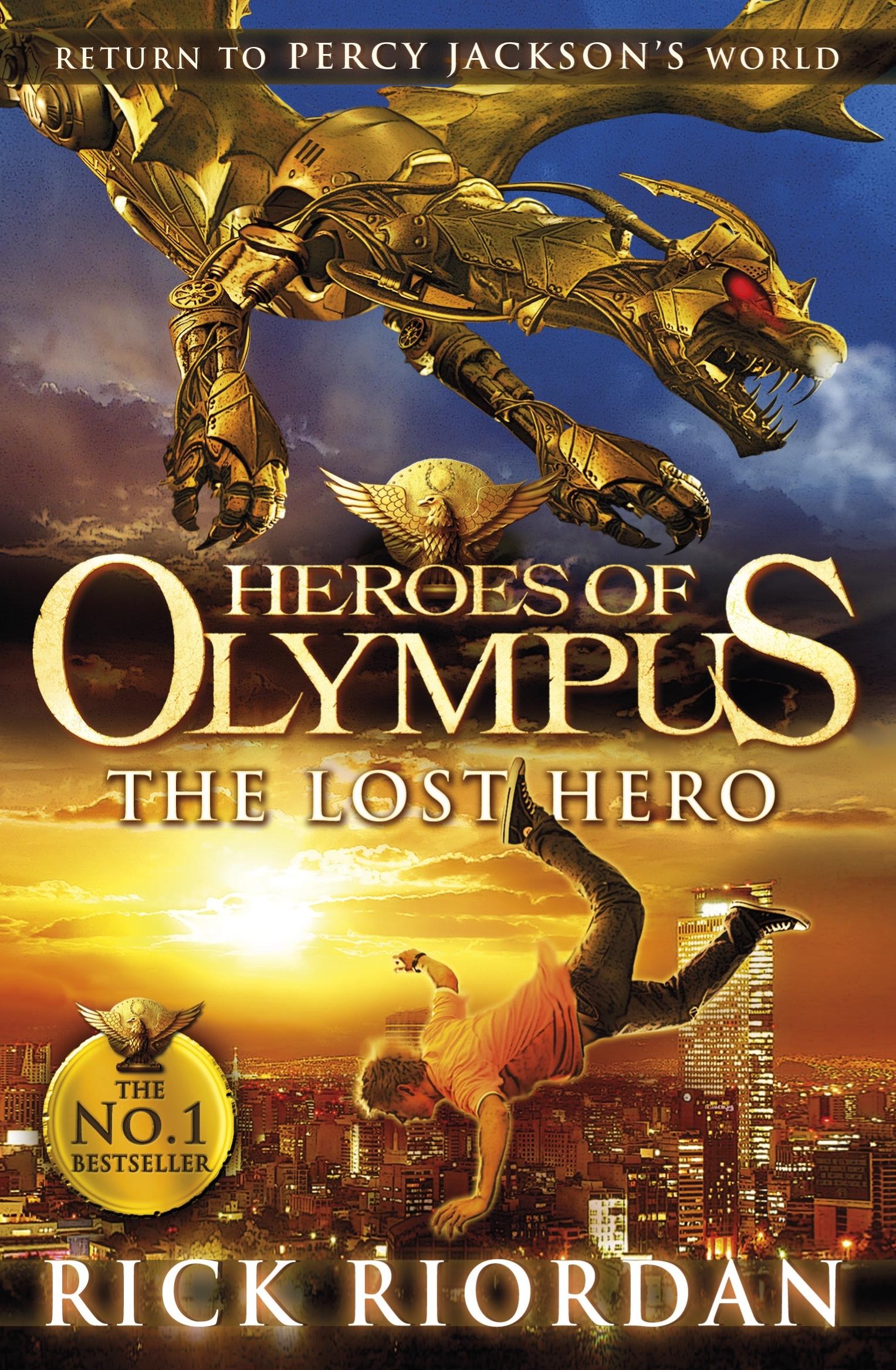 The Lost Hero Heroes Of Olympus Book 1
