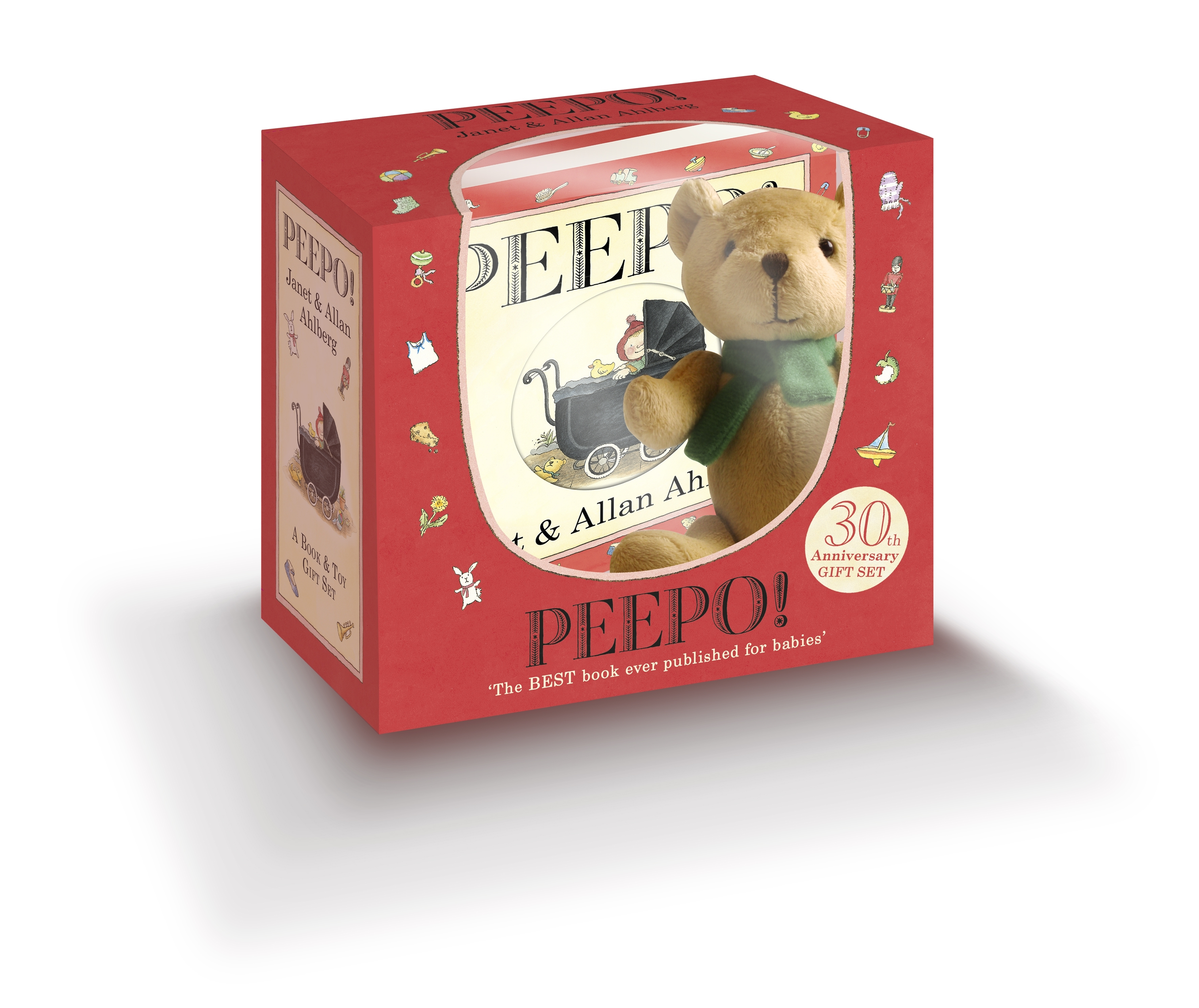 Penguin Book Cover Gifts : Peepo gift box th anniversary by allan ahlberg