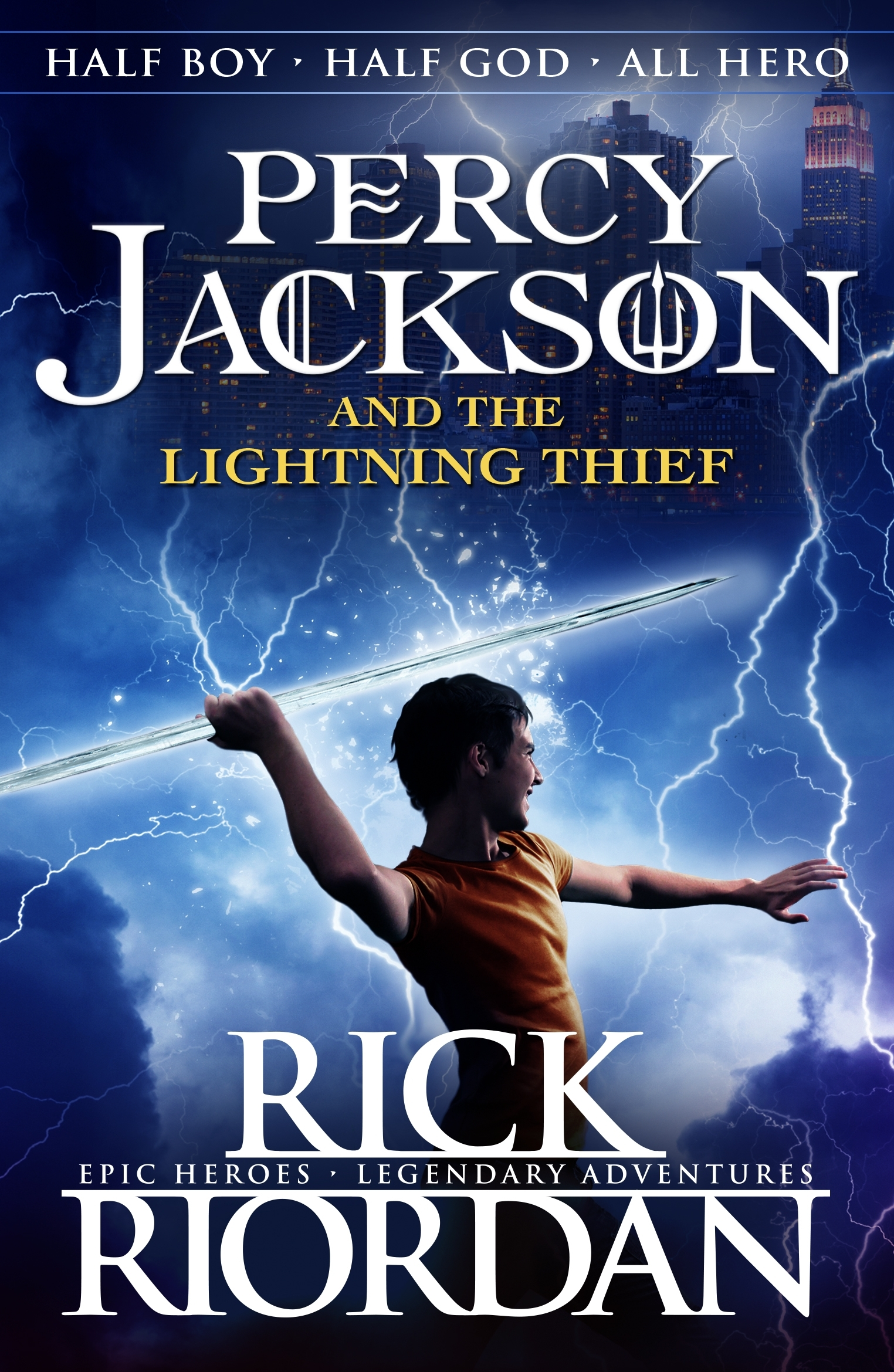Percy Jackson And The Lightning Thief Book 1 By Rick Riordan  sc 1 st  Lilianduval & Percy Jackson The Lighting Thief - Lilianduval azcodes.com