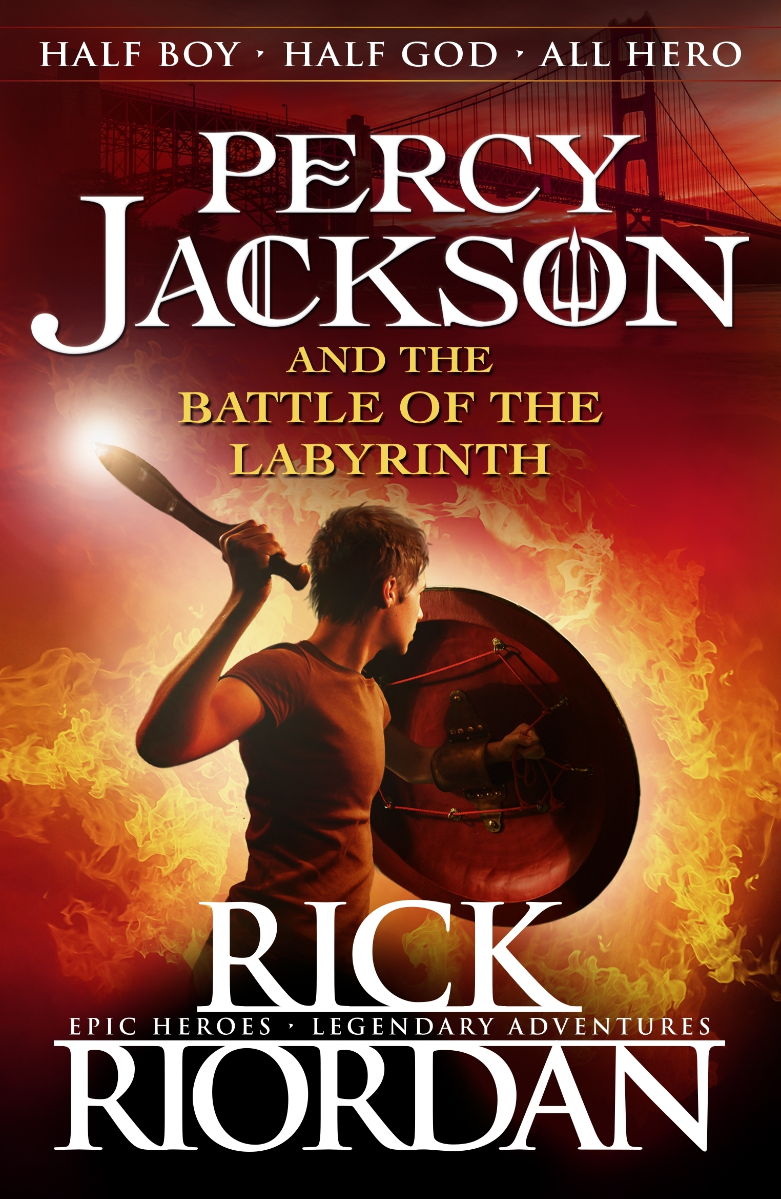 Percy Jackson Book Cover Pictures ~ Percy jackson and the battle of labyrinth book by