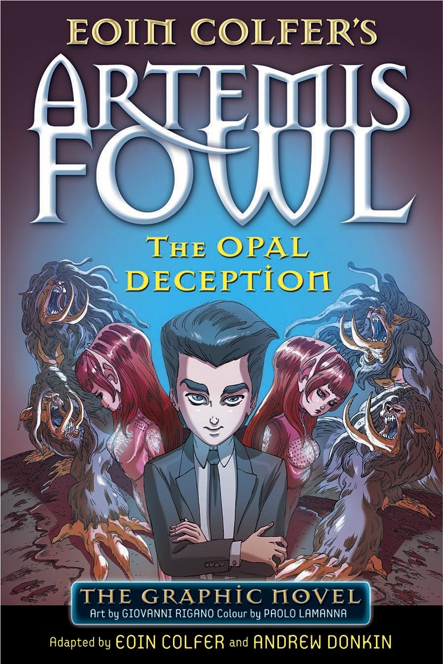 Artemis Fowl By Eoin Colfer Penguin Books New Zealand