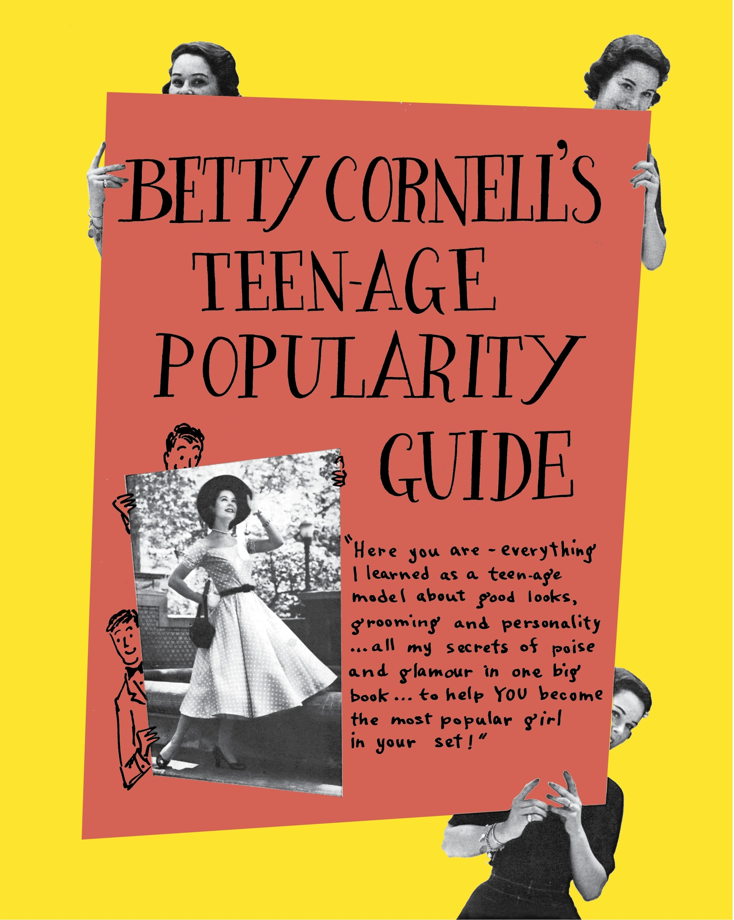 Betty Cornell Teen Age Popularity Guide By Betty Cornell Penguin