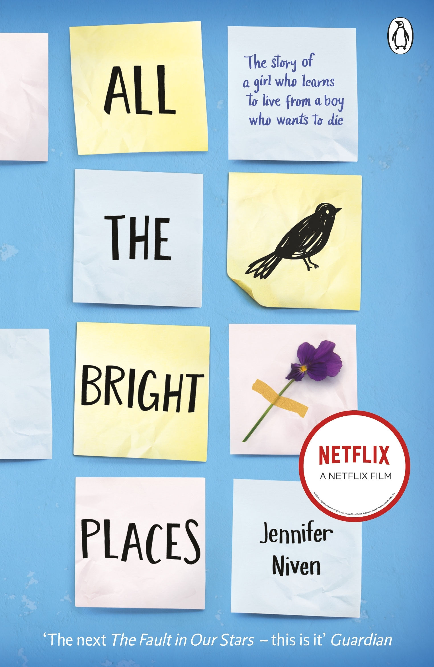 All the bright places by jennifer niven penguin books australia all the bright places solutioingenieria Choice Image