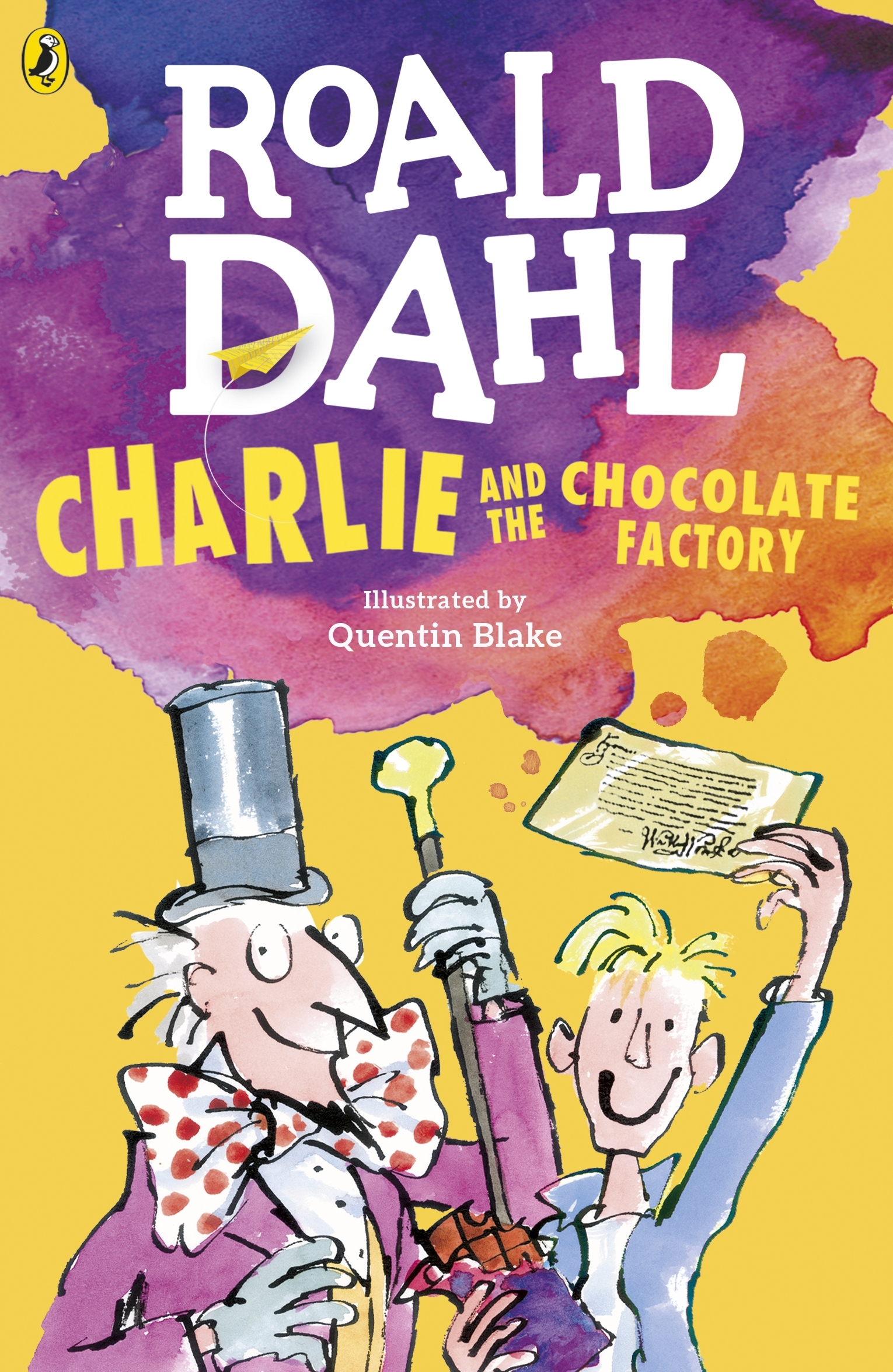 Image result for Charlie and the Chocolate Factory book cover