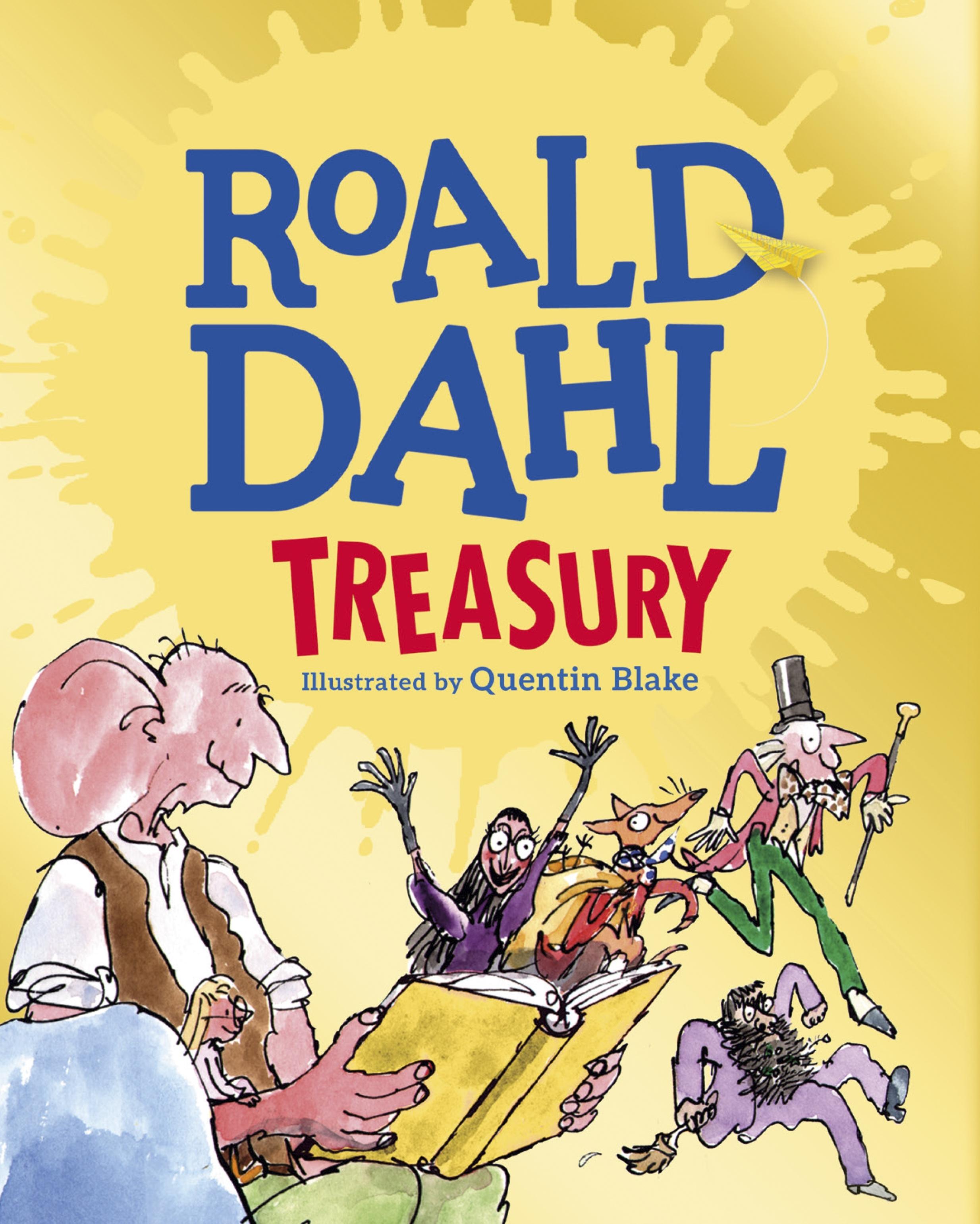The Roald Dahl Treasury By Roald Dahl Penguin Books