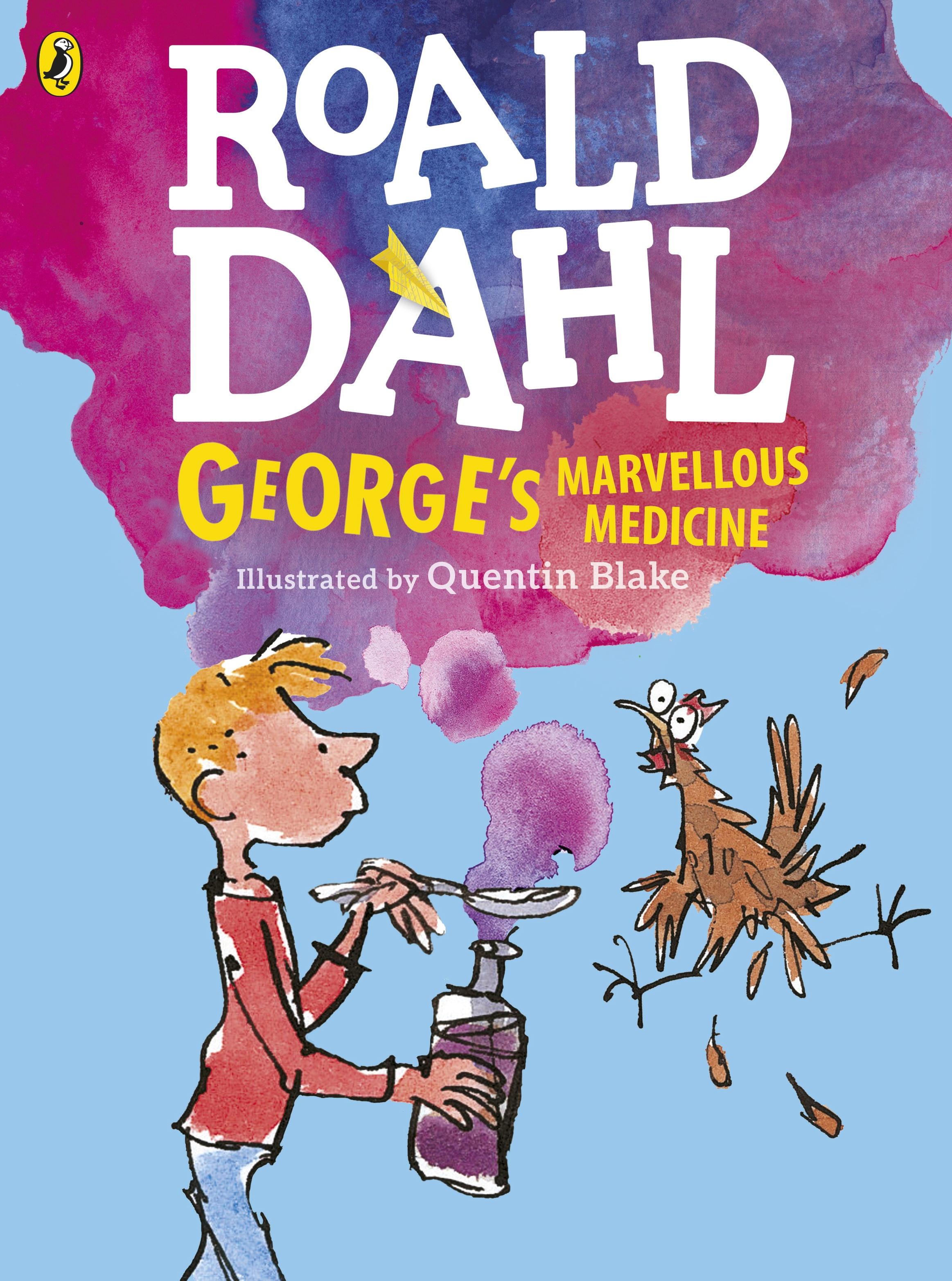 Roald Dahl Book Cover Pictures : George s marvellous medicine by roald dahl penguin books
