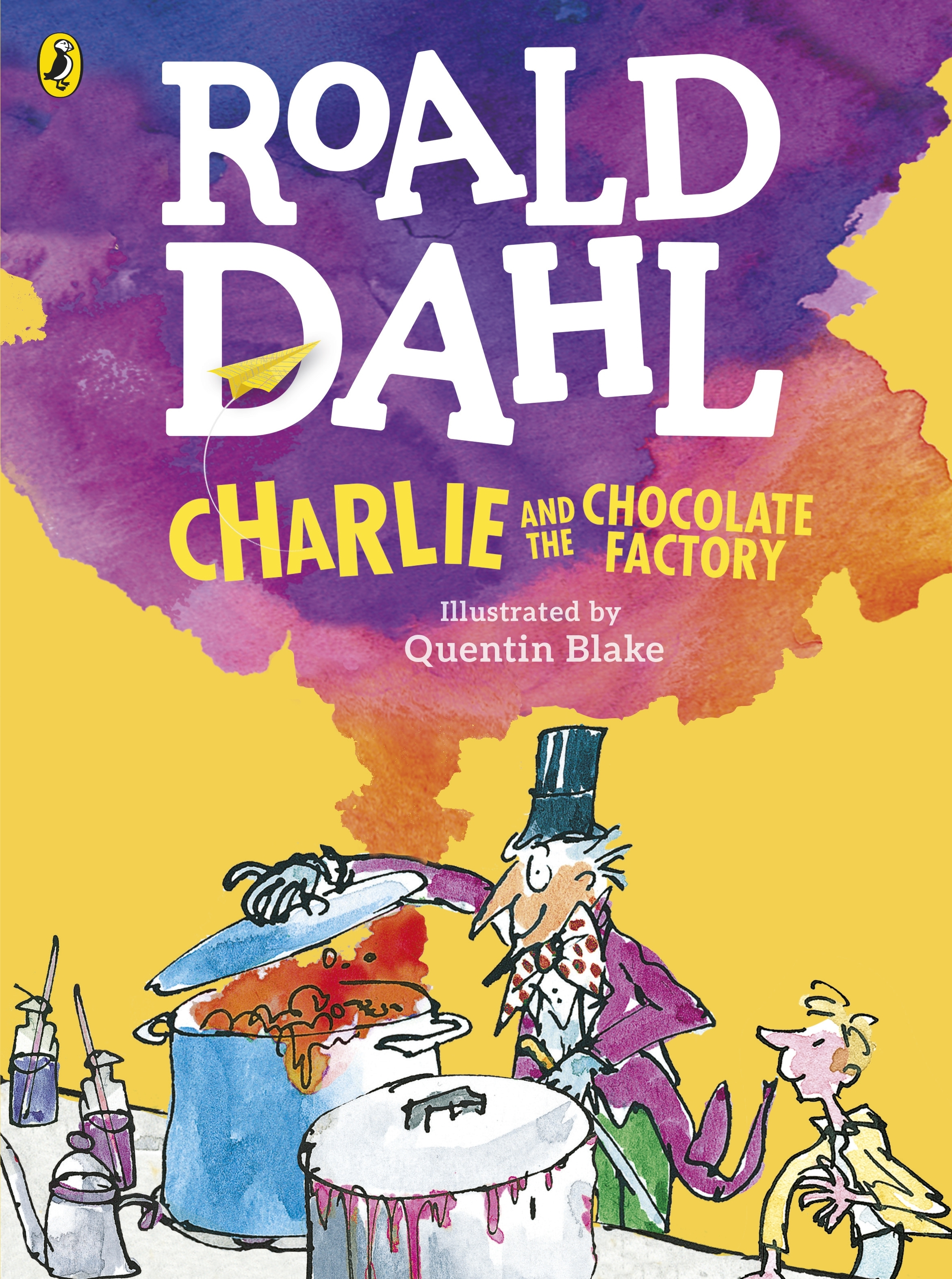 Charlie And The Chocolate Factory Book Cover Page