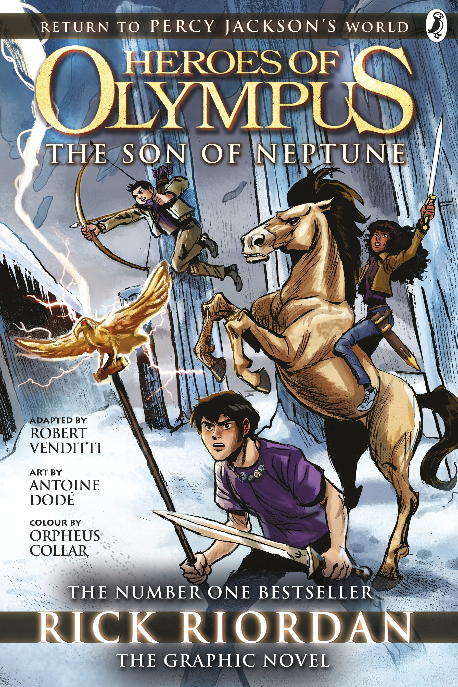 The Son Of Neptune: The Graphic Novel (Heroes Of Olympus ...