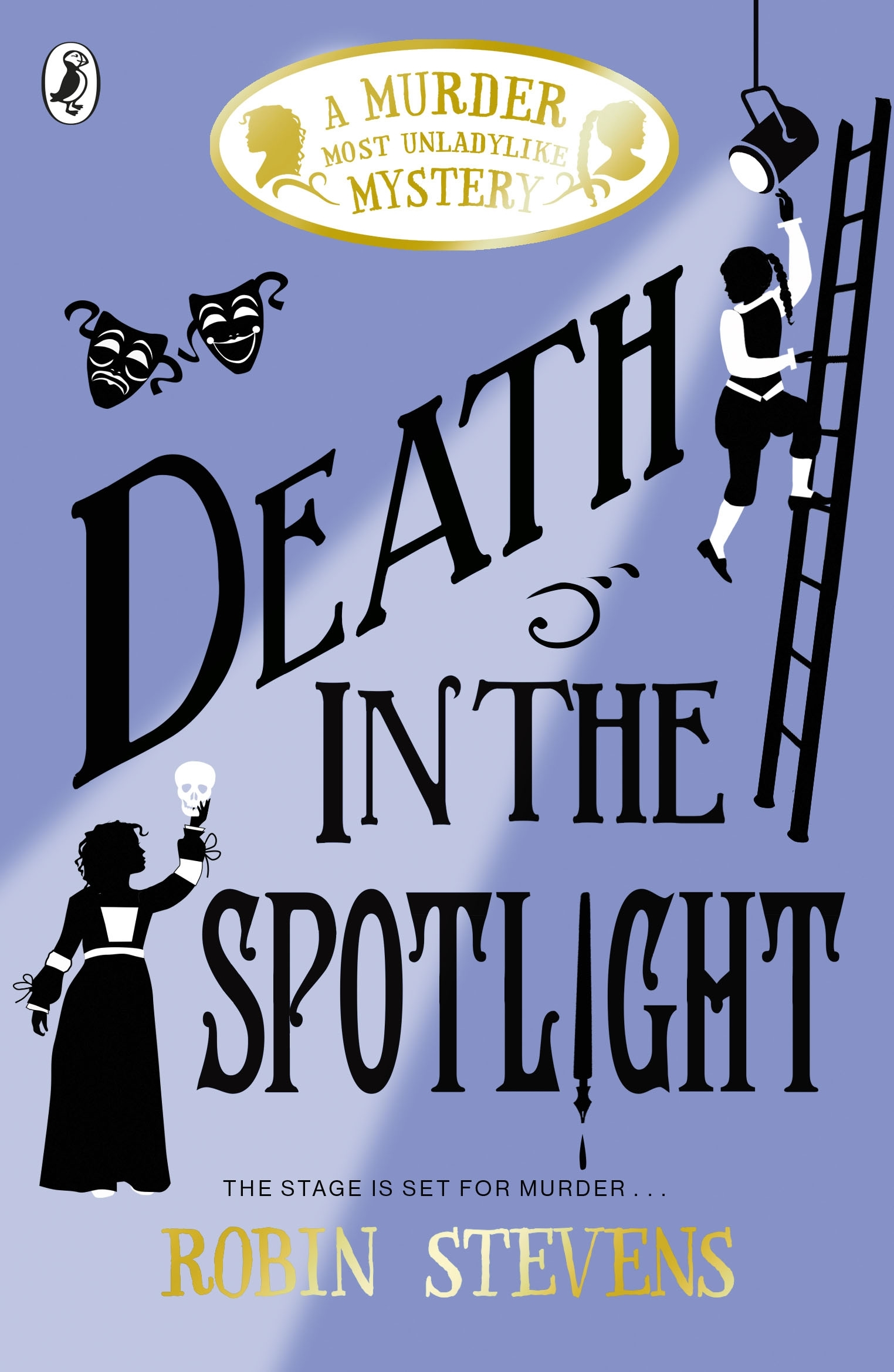 Image result for Death In The Spotlight by Robin Stevens