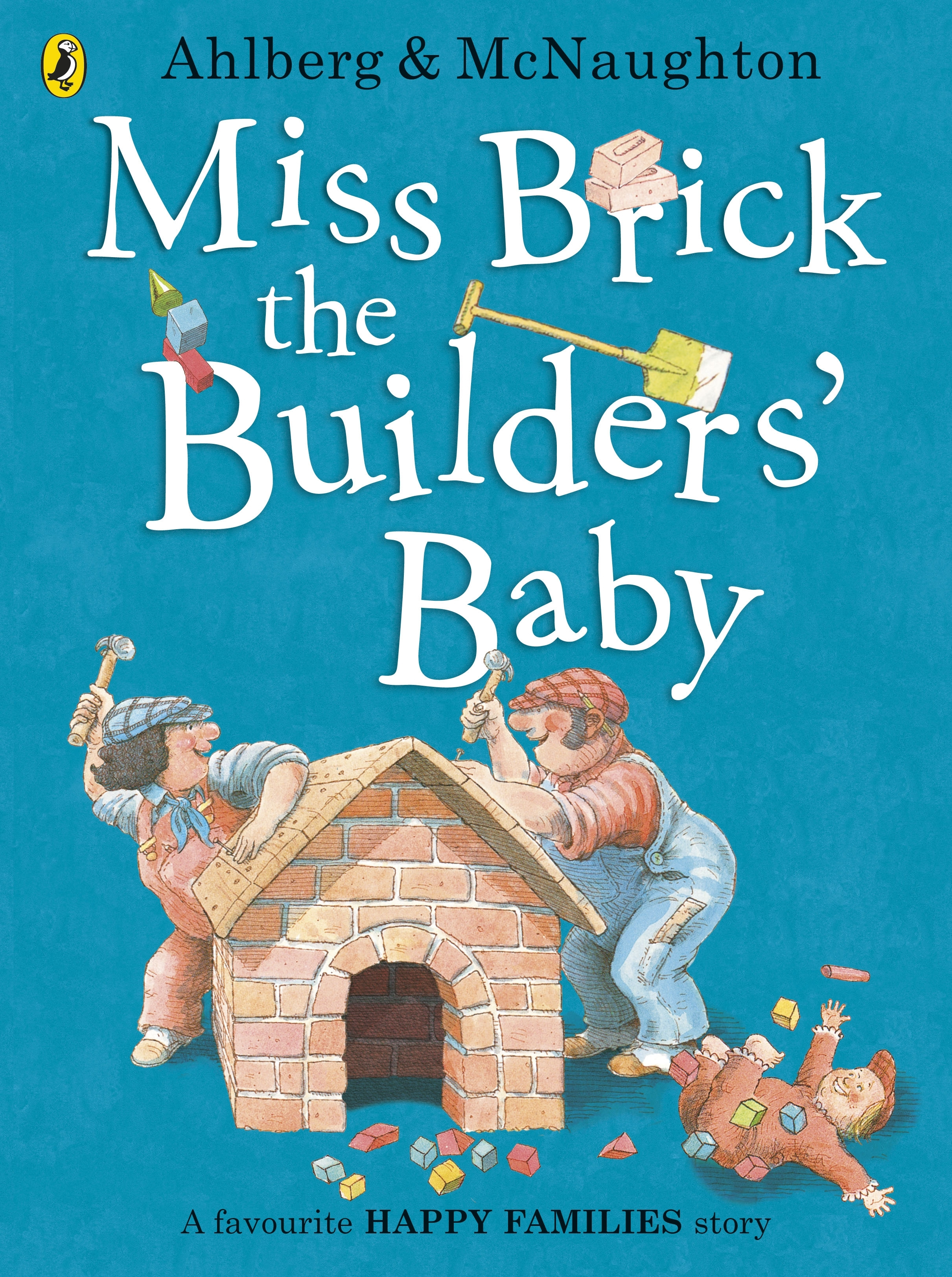 Miss Brick The Builders' Baby by Allan Ahlberg - Penguin Books New