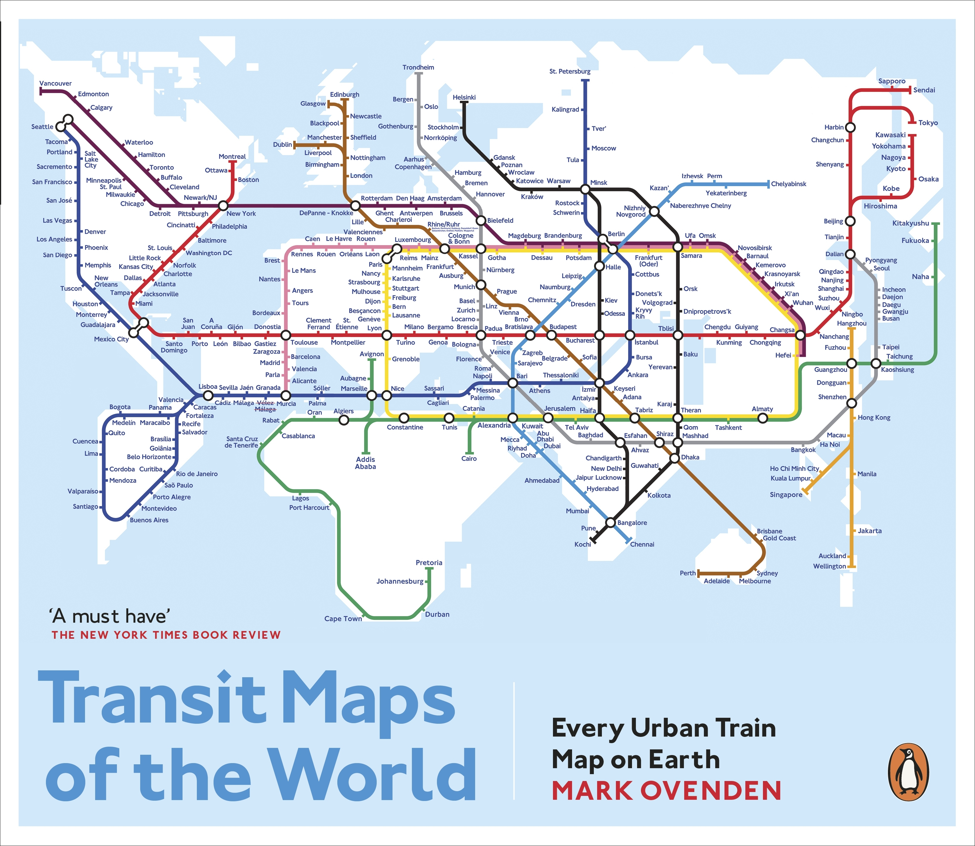 Transit maps of the world by mark ovenden penguin books australia hi res cover transit maps of the world publicscrutiny Choice Image