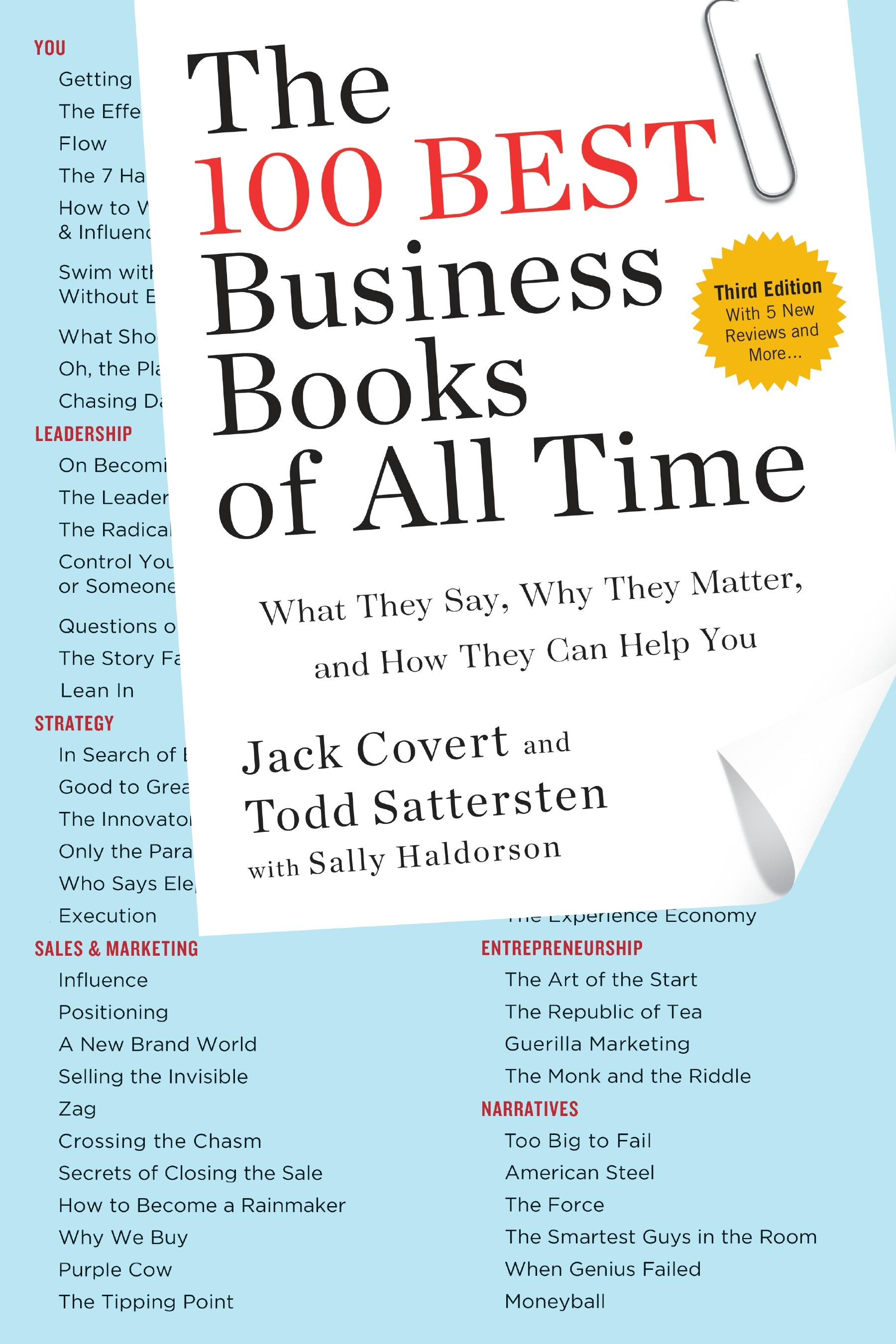 The 100 Best Business Books of All Time: What They Say, Why They