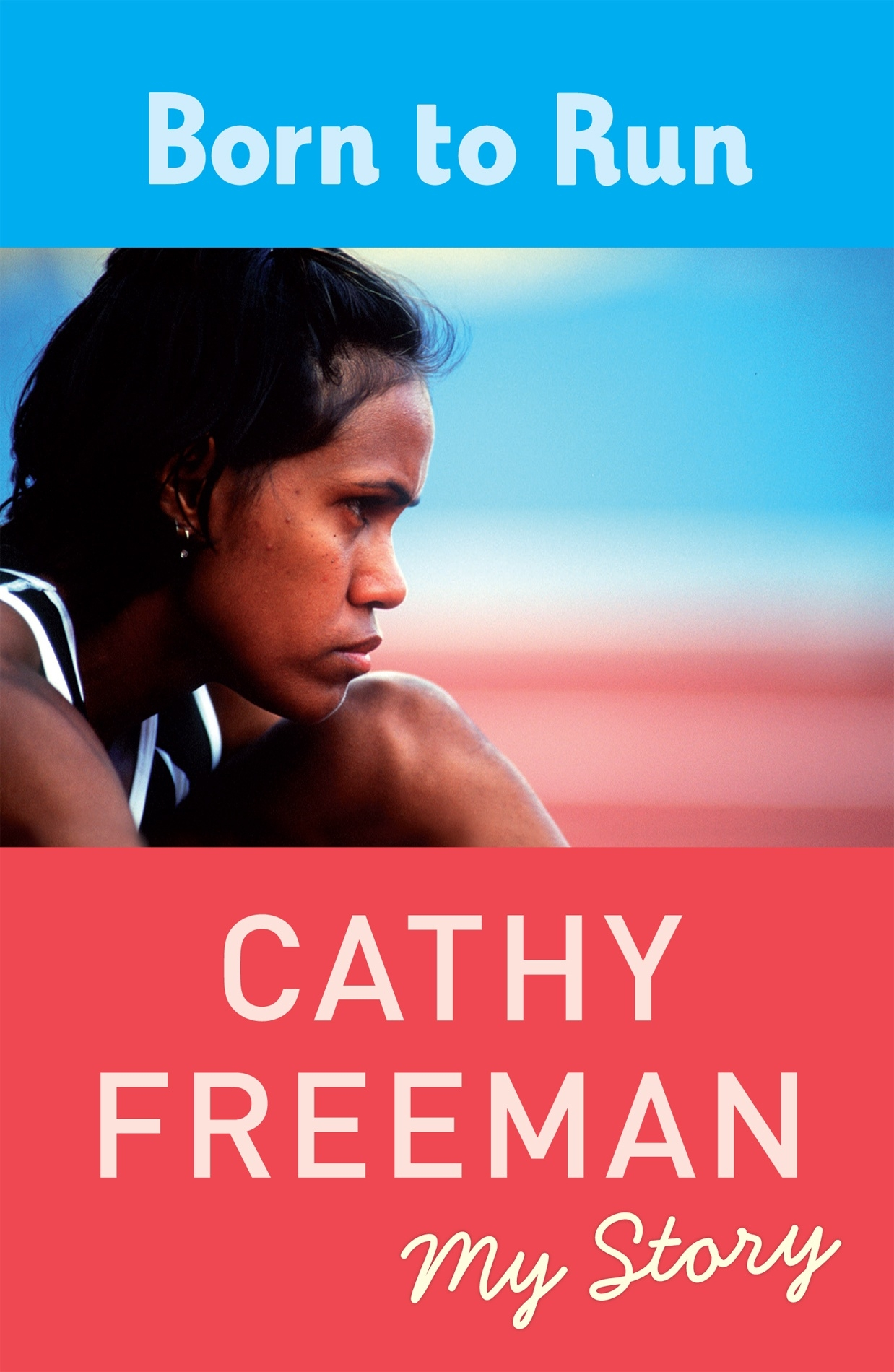 Image result for book cover born to run cathy freeman