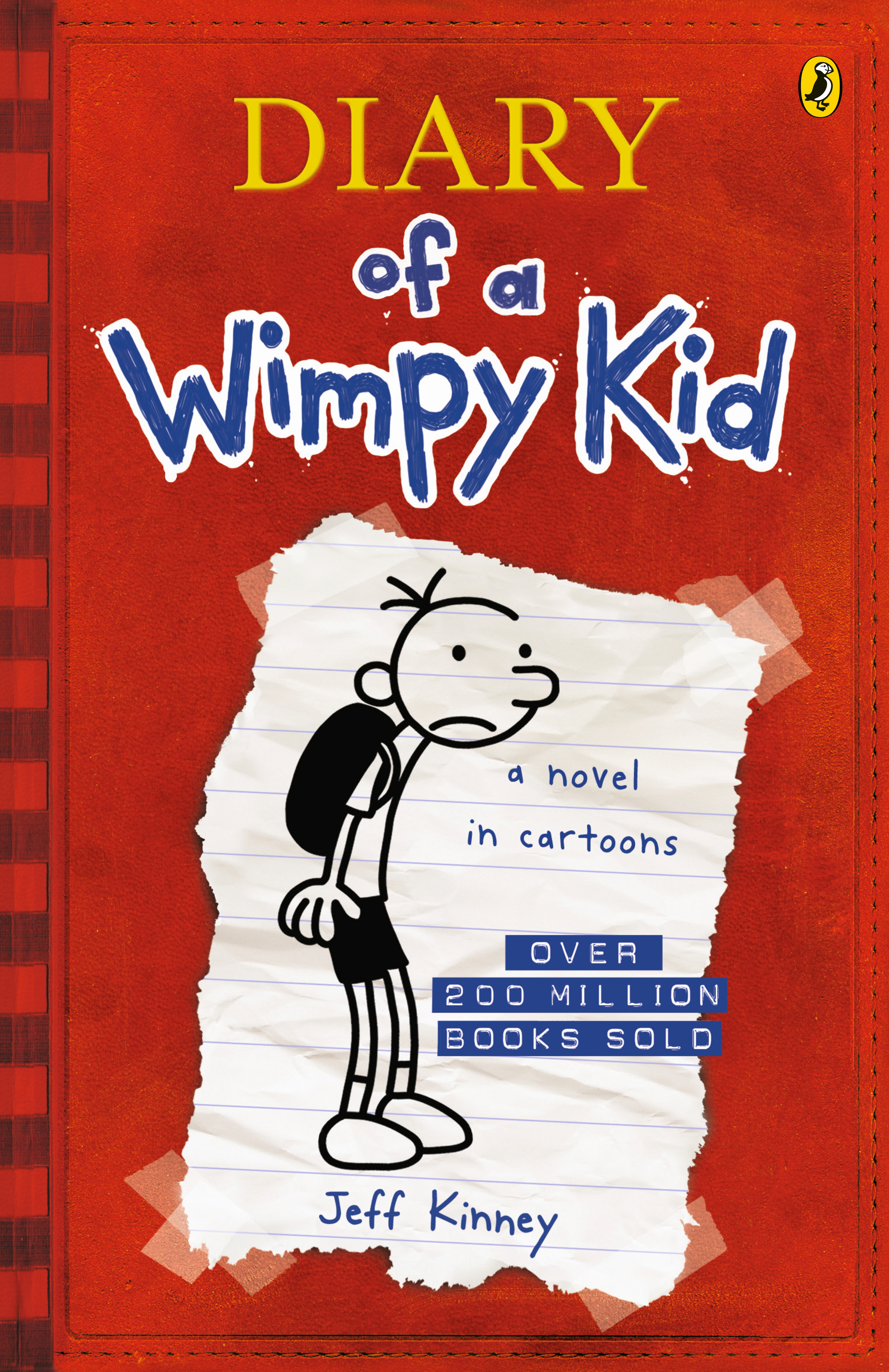 Diary of a wimpy kid bk1 by jeff kinney penguin books australia hi res cover diary of a wimpy kid solutioingenieria Images