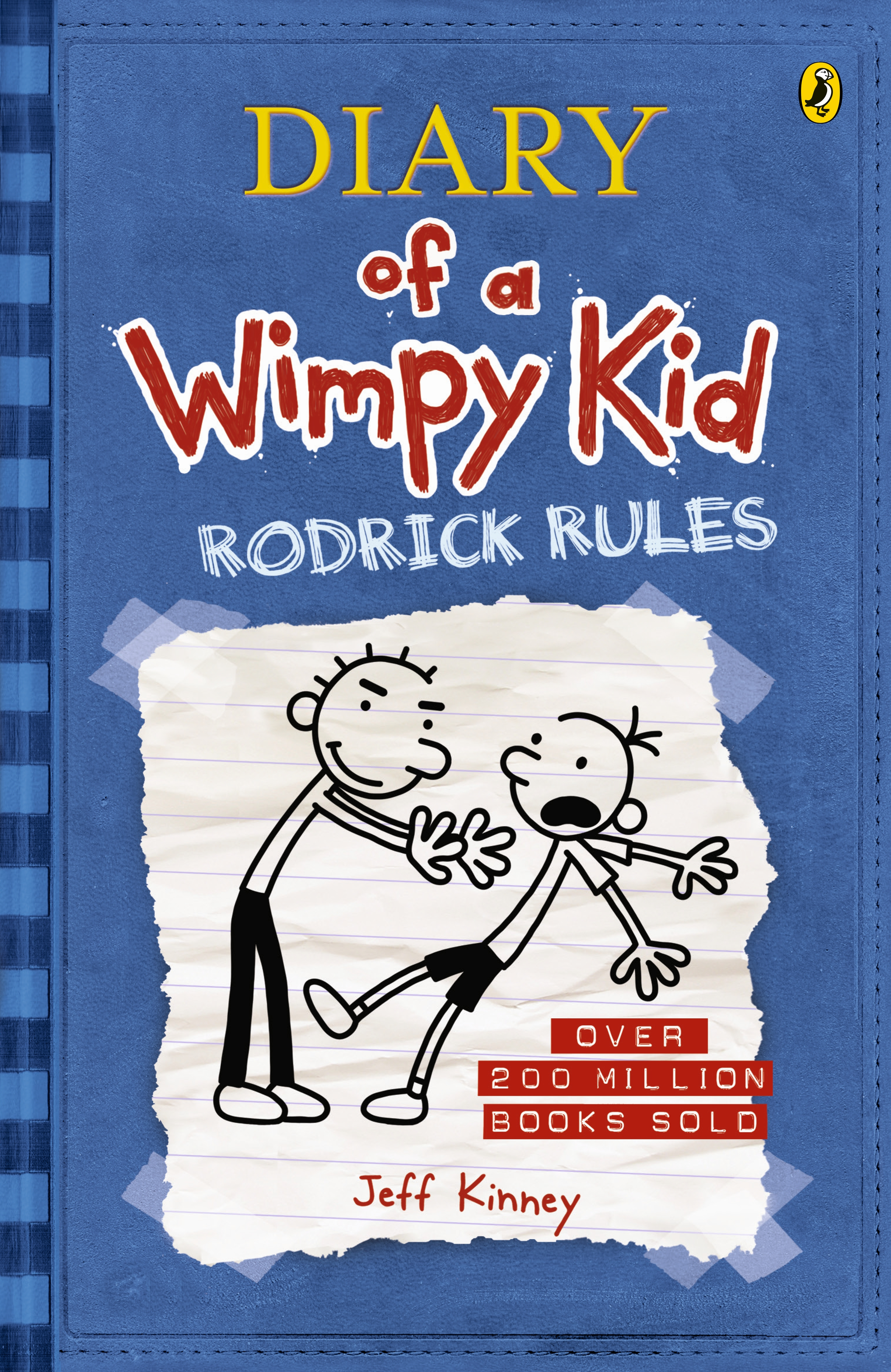 Rodrick rules diary of a wimpy kid bk2 by jeff kinney penguin hi res cover rodrick rules diary of a wimpy kid solutioingenieria Images