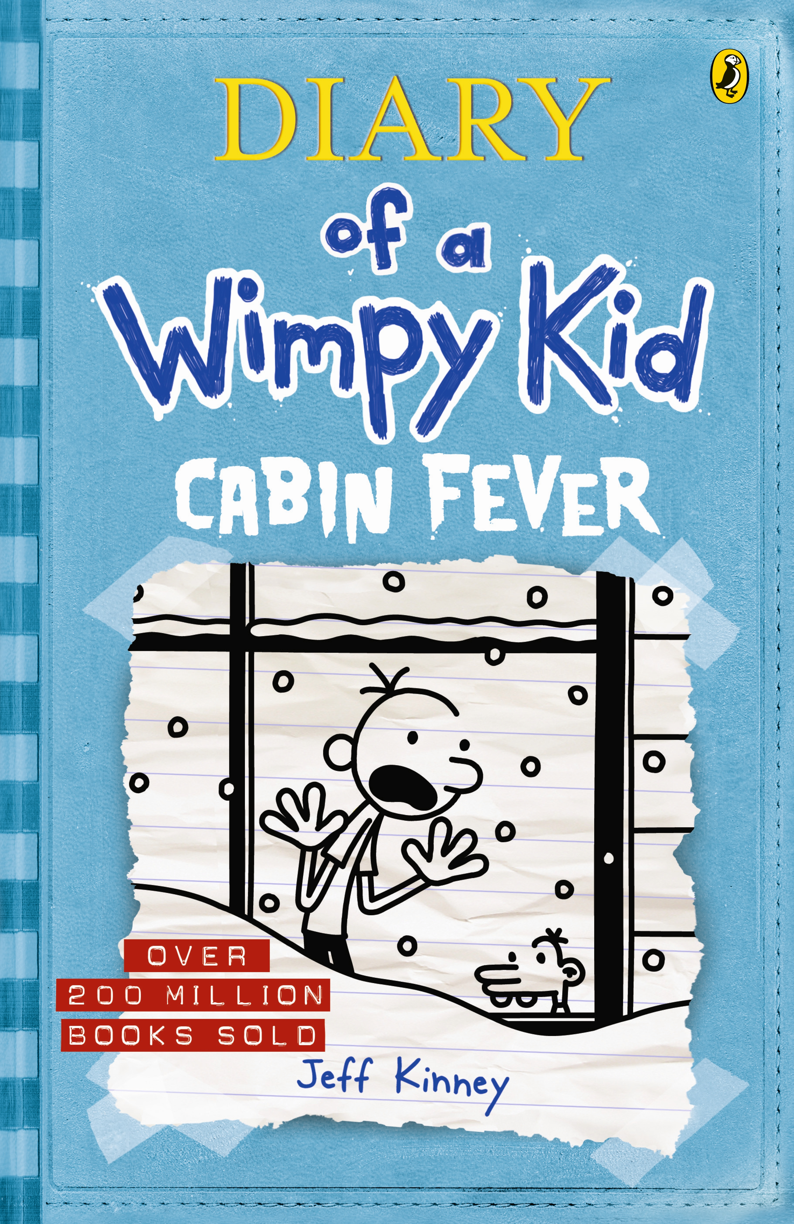Cabin fever diary of a wimpy kid bk6 by jeff kinney penguin hi res cover cabin fever diary of a wimpy kid solutioingenieria Images