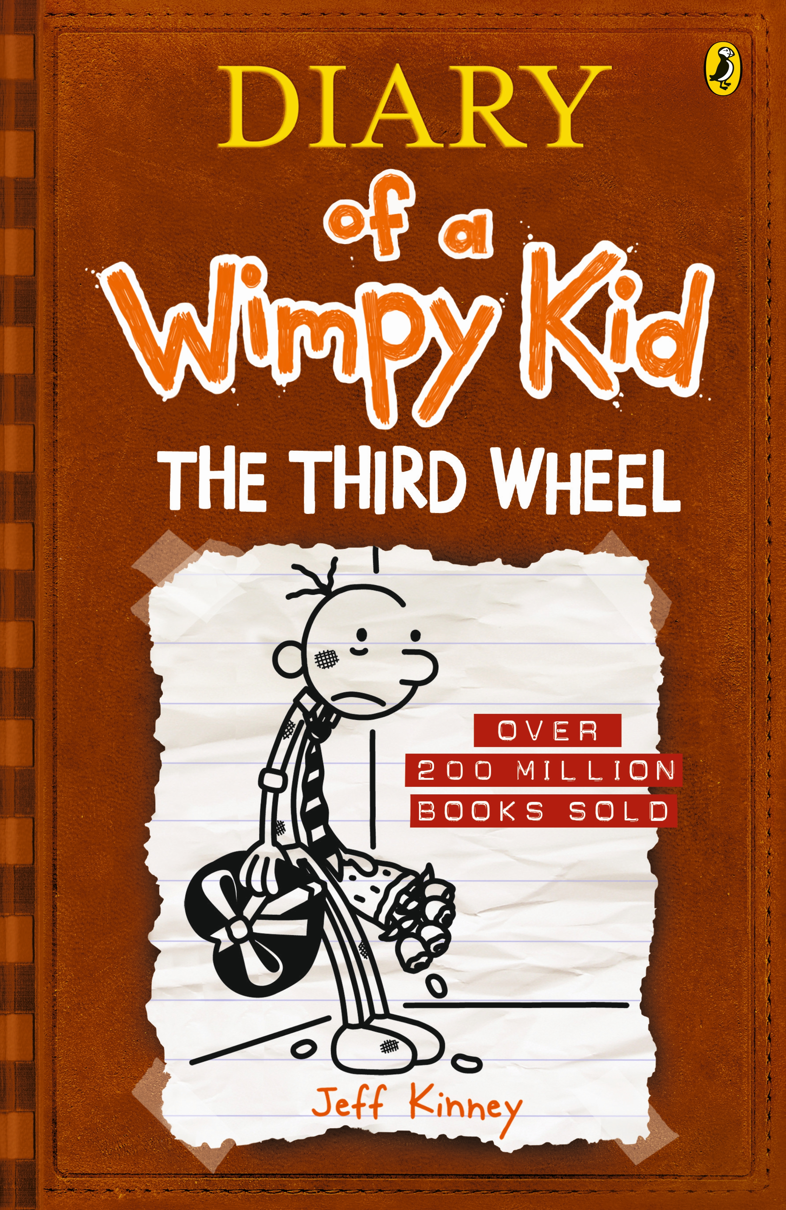 The third wheel diary of a wimpy kid bk7 by jeff kinney penguin hi res cover the third wheel diary of a wimpy kid solutioingenieria Gallery