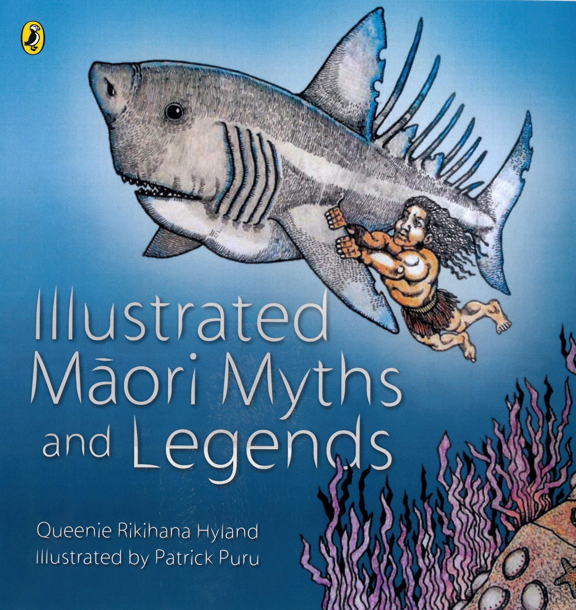 Maori Mythology: Illustrated Maori Myths And Legends By Queenie Rikihana