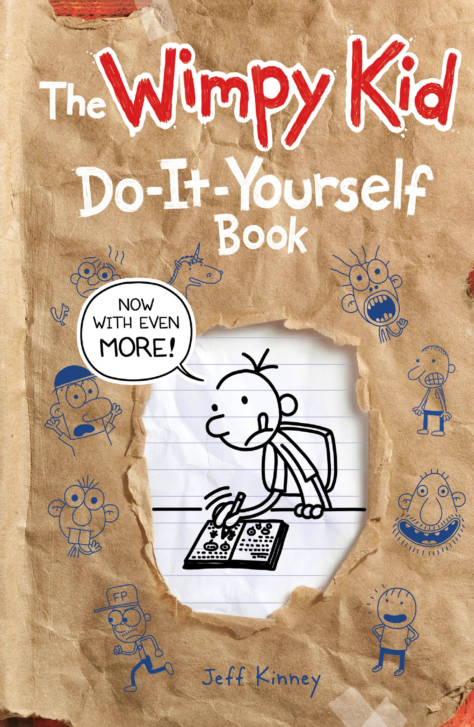 Do it yourself volume 2 diary of a wimpy kid by jeff kinney hi res cover do it yourself volume 2 diary of a wimpy kid solutioingenieria Image collections