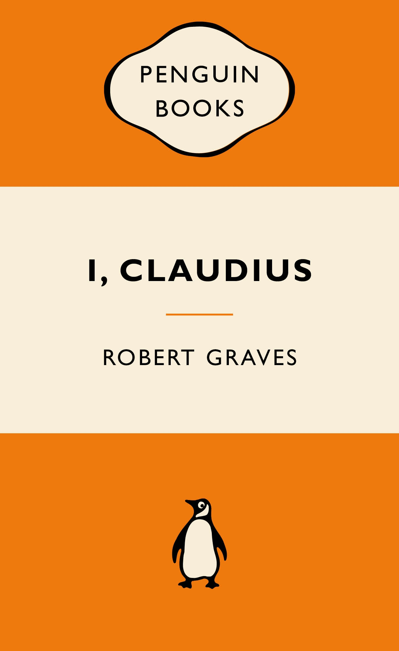 Penguin Book Cover Postcards From ~ I claudius popular penguins by robert graves penguin