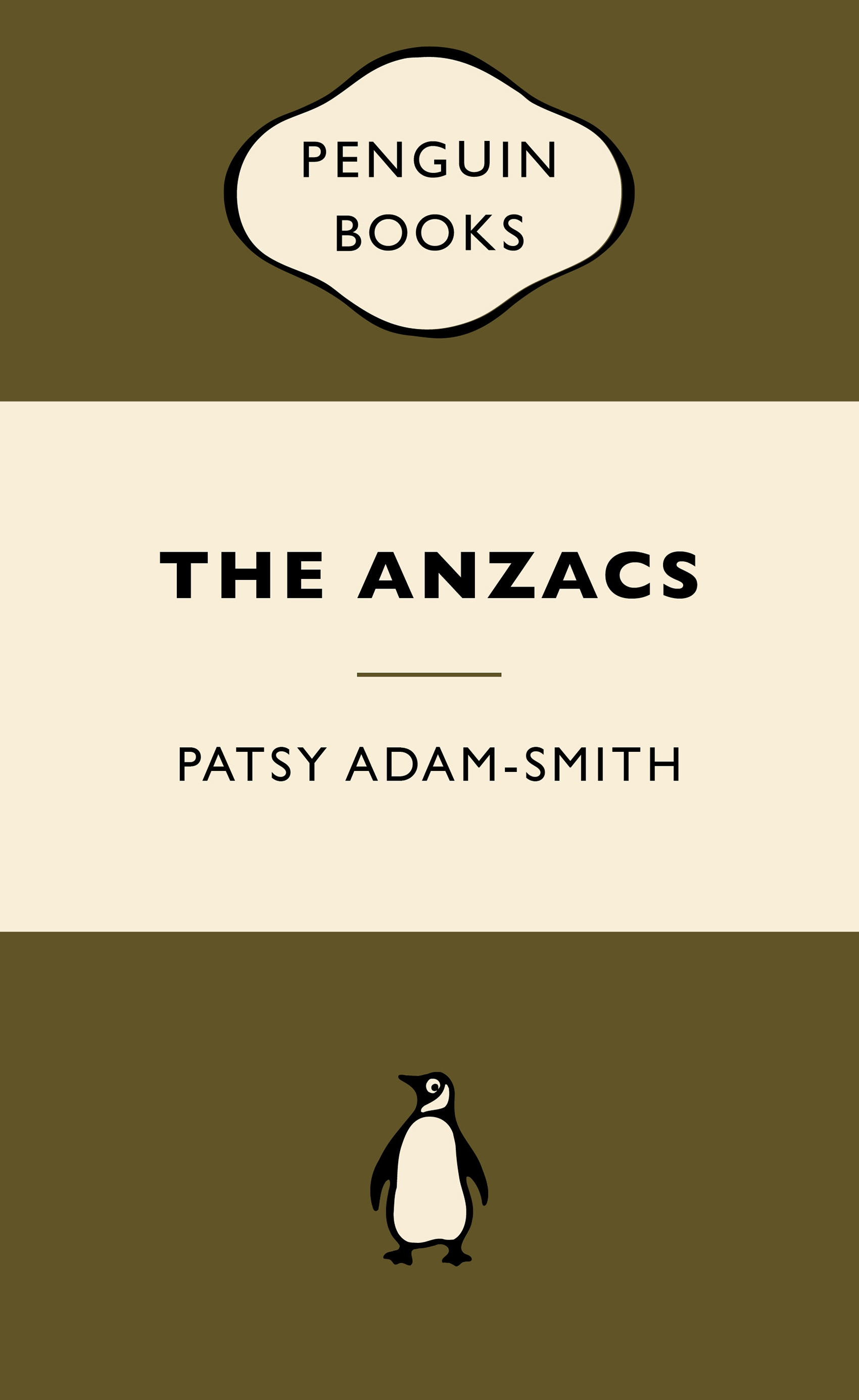 Original Penguin Book Covers : The anzacs war popular penguins by patsy adam smith