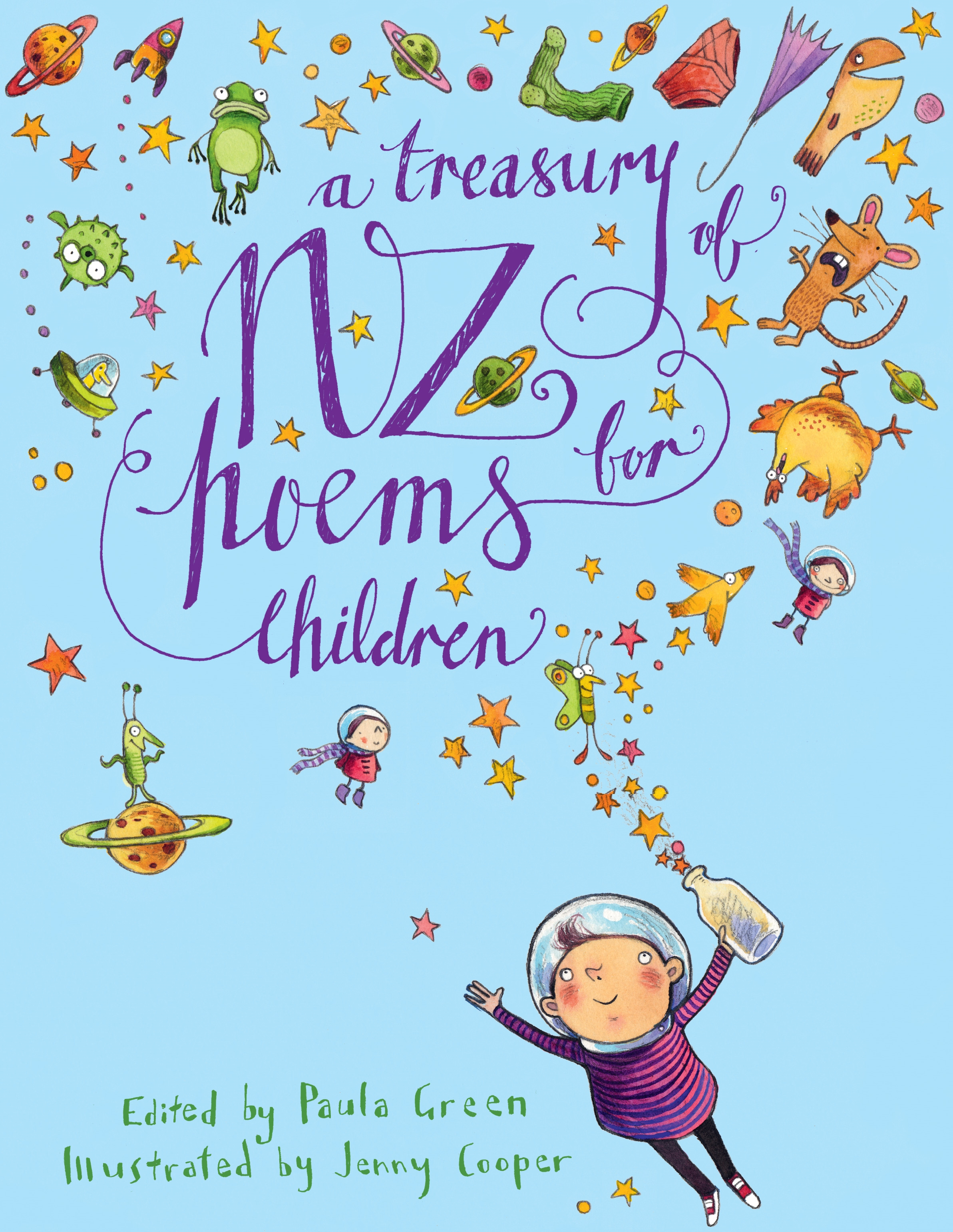 A Treasury of NZ Poems for Children by Paula Green - Penguin Books