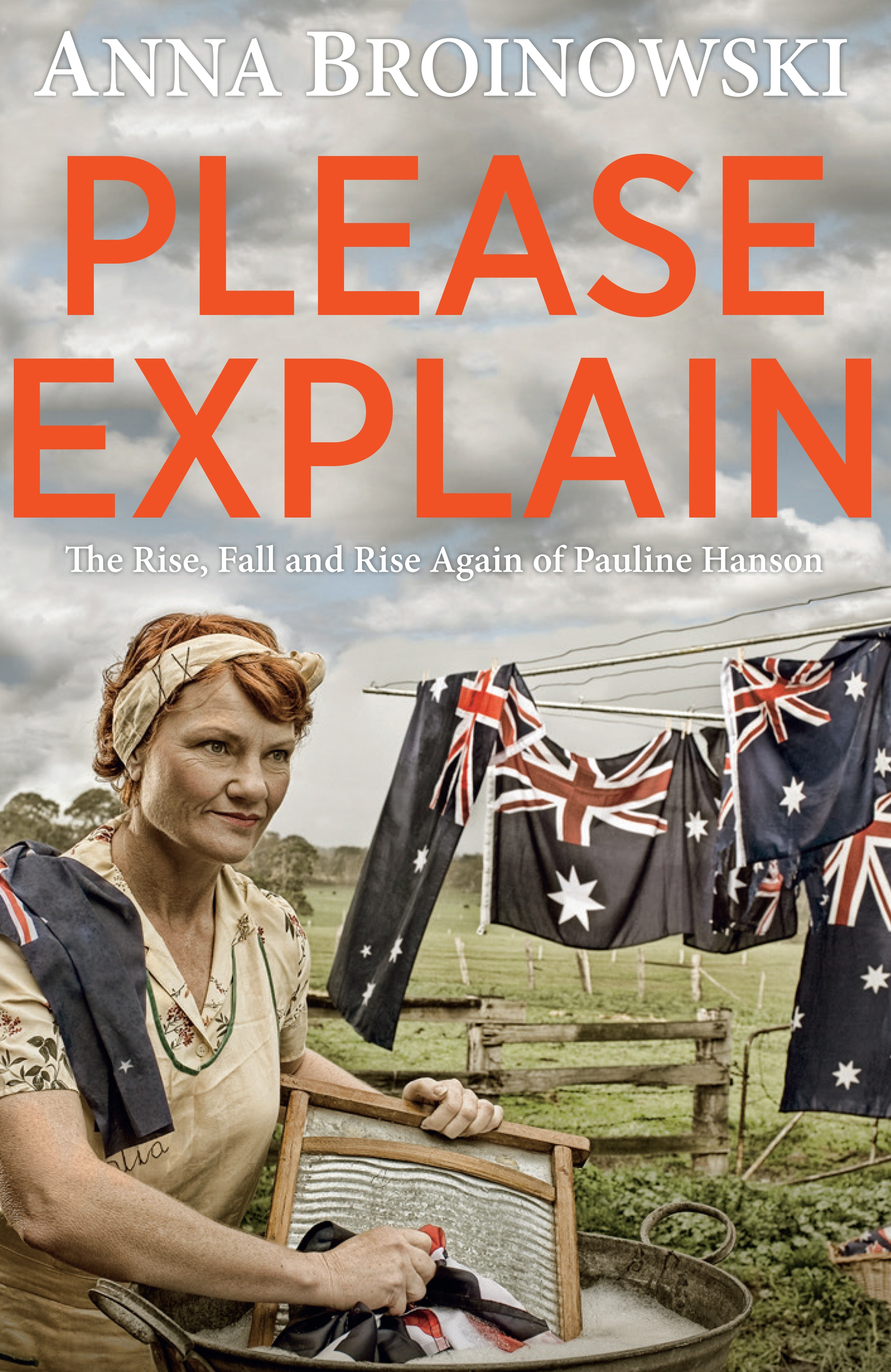 please explain the rise fall and rise again of pauline hanson by