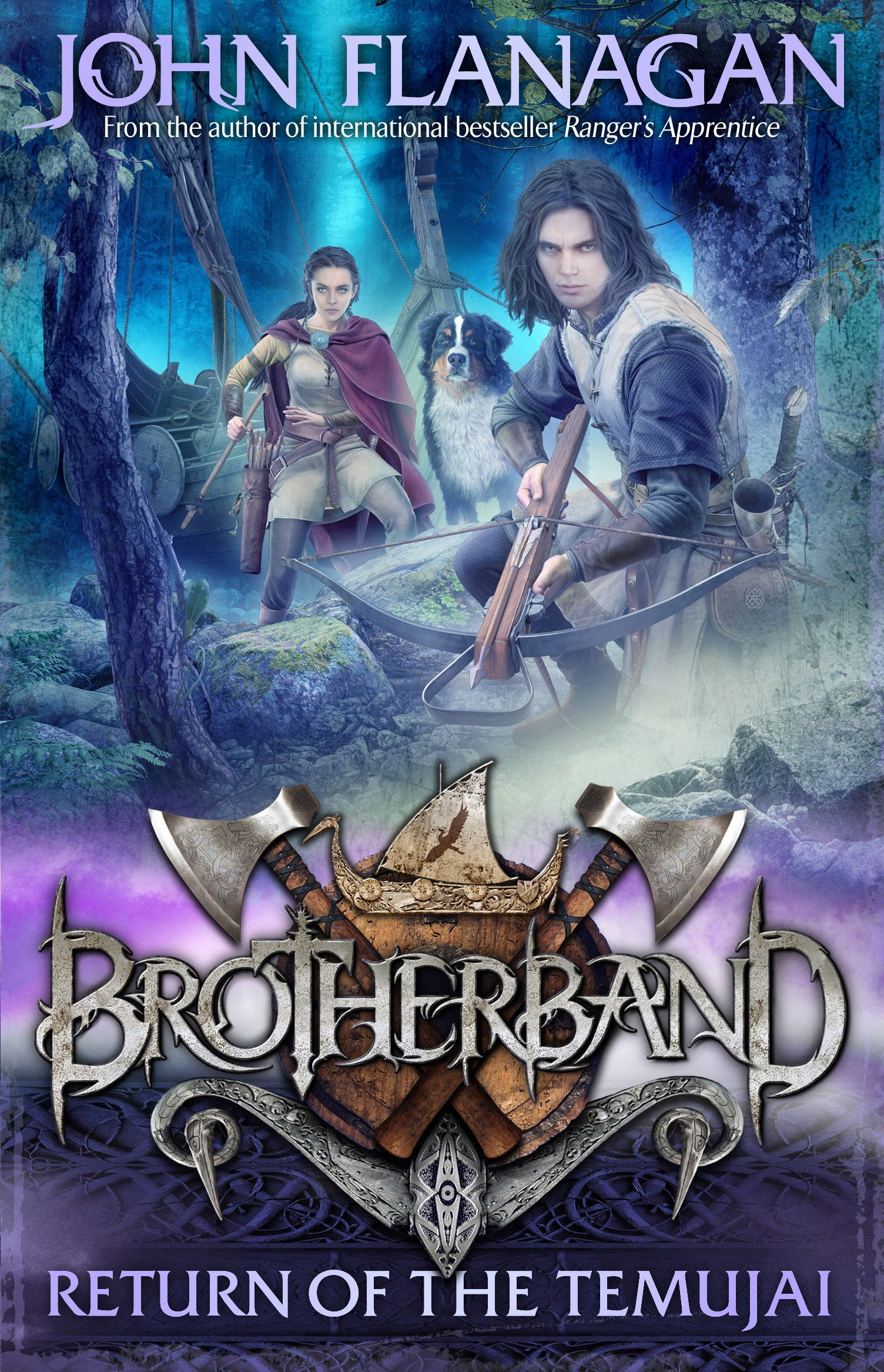 Brotherband 8: Return of the Temujai by John Flanagan