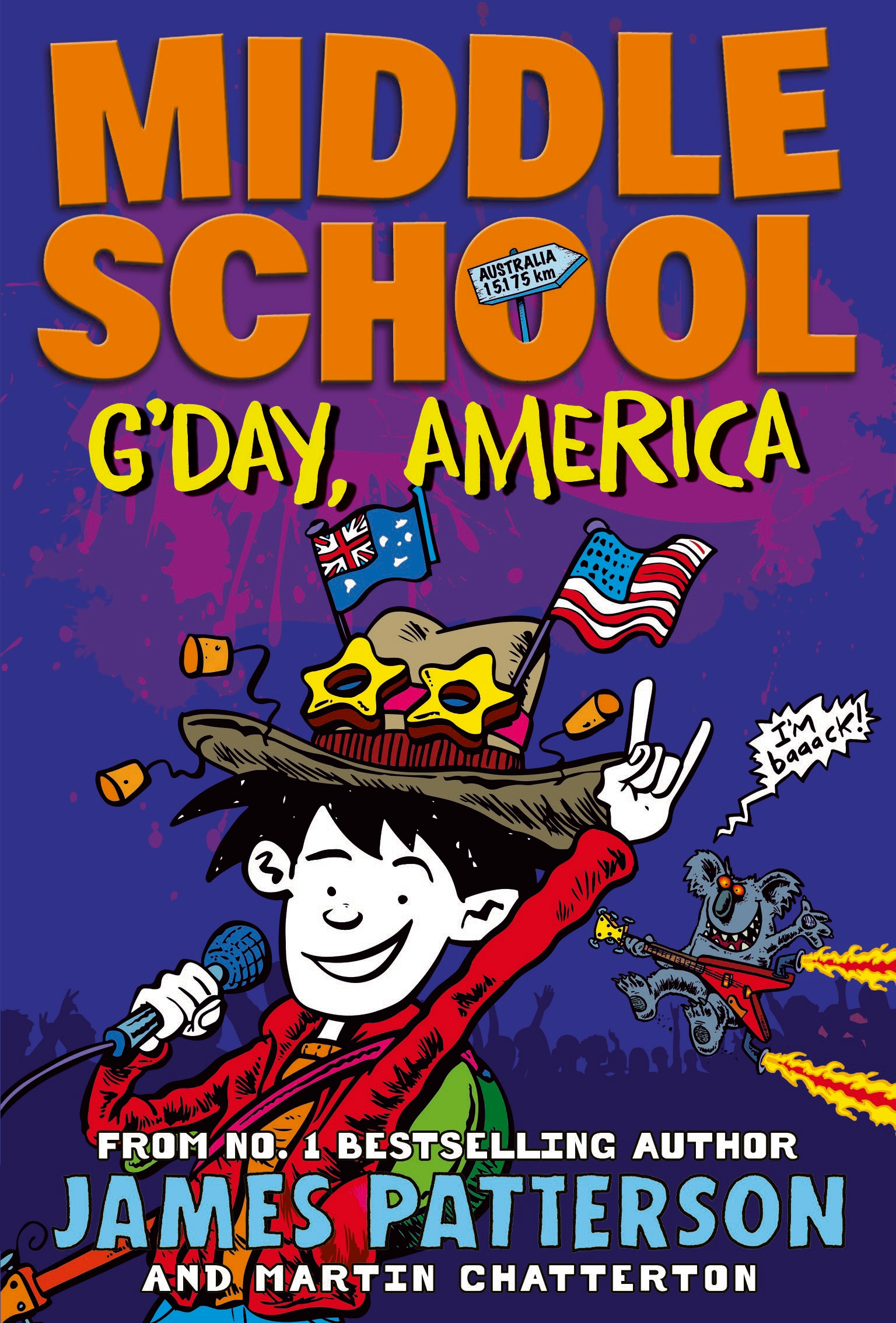 Middle School Gday America By James Patterson Penguin Books