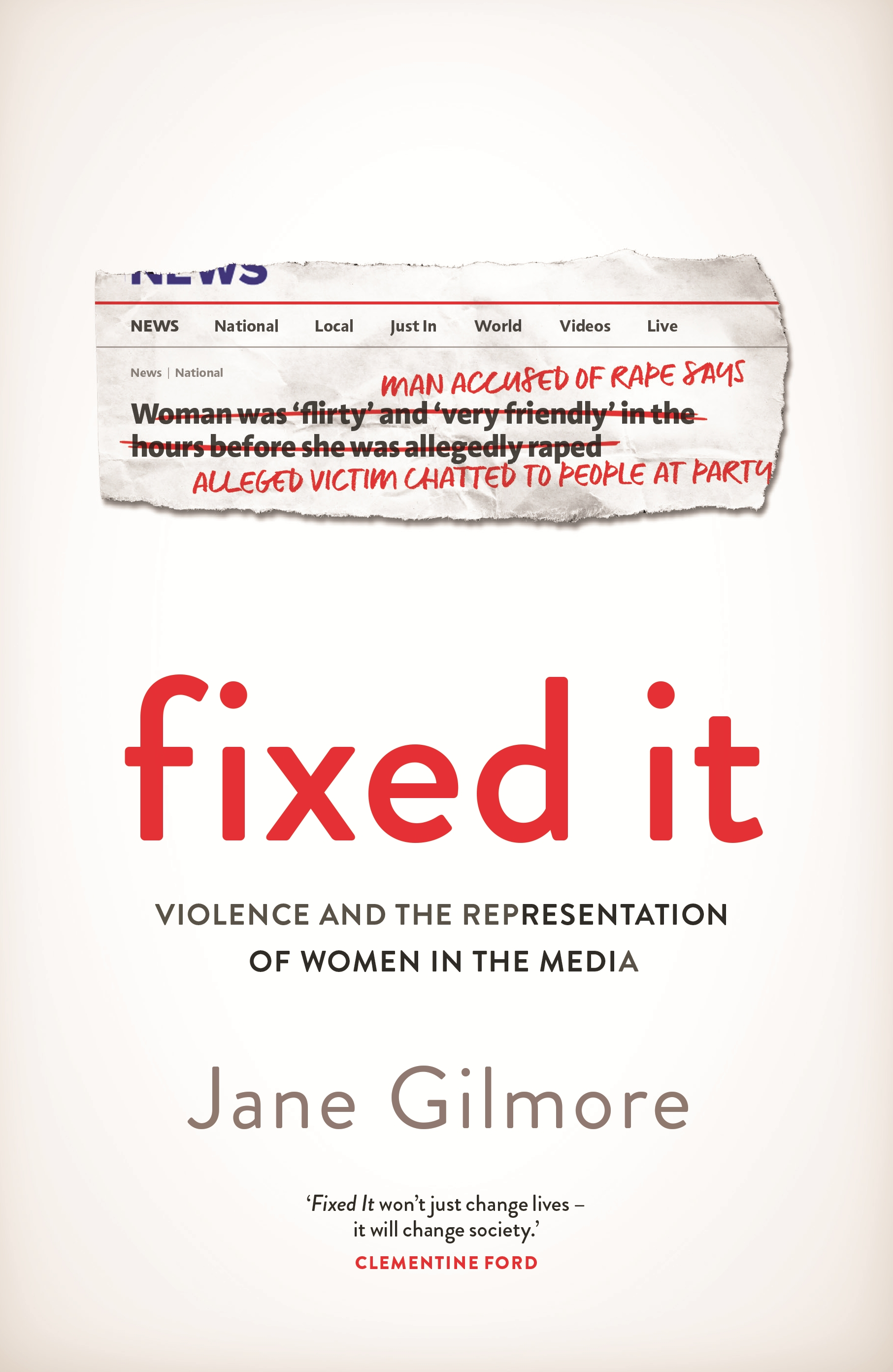 Fixed It by Jane Gilmore - Penguin Books New Zealand