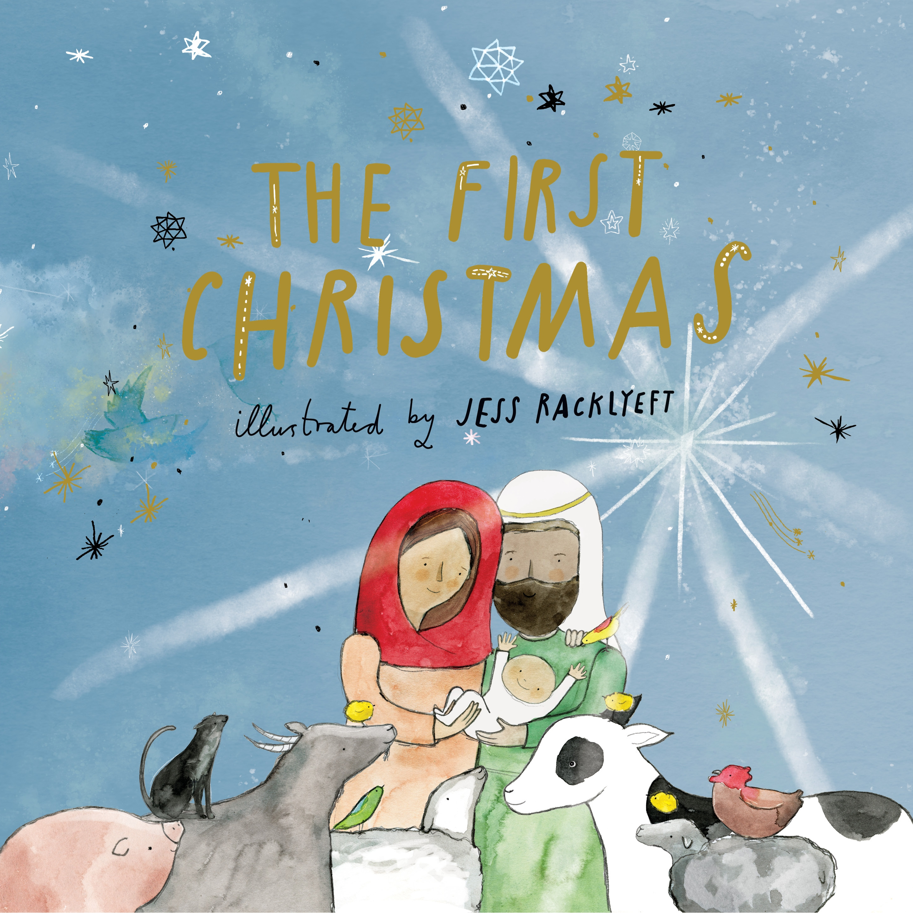 The First Christmas.The First Christmas By Jess Racklyeft Penguin Books Australia