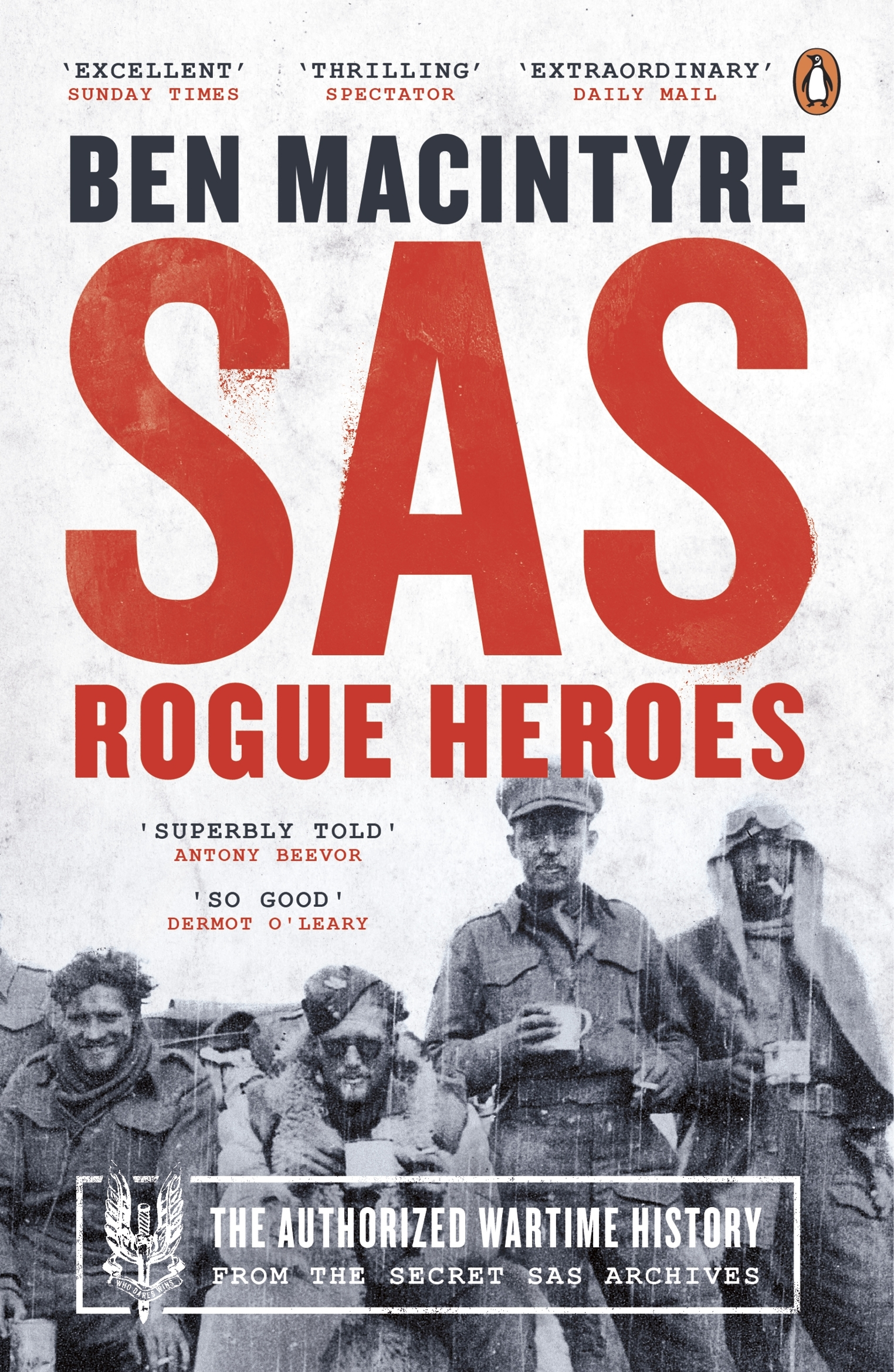 history of sas The bbc has exclusive access to the remarkable piece of history it was 1946 world war ii was over and so was the special air service, better known as the sas.