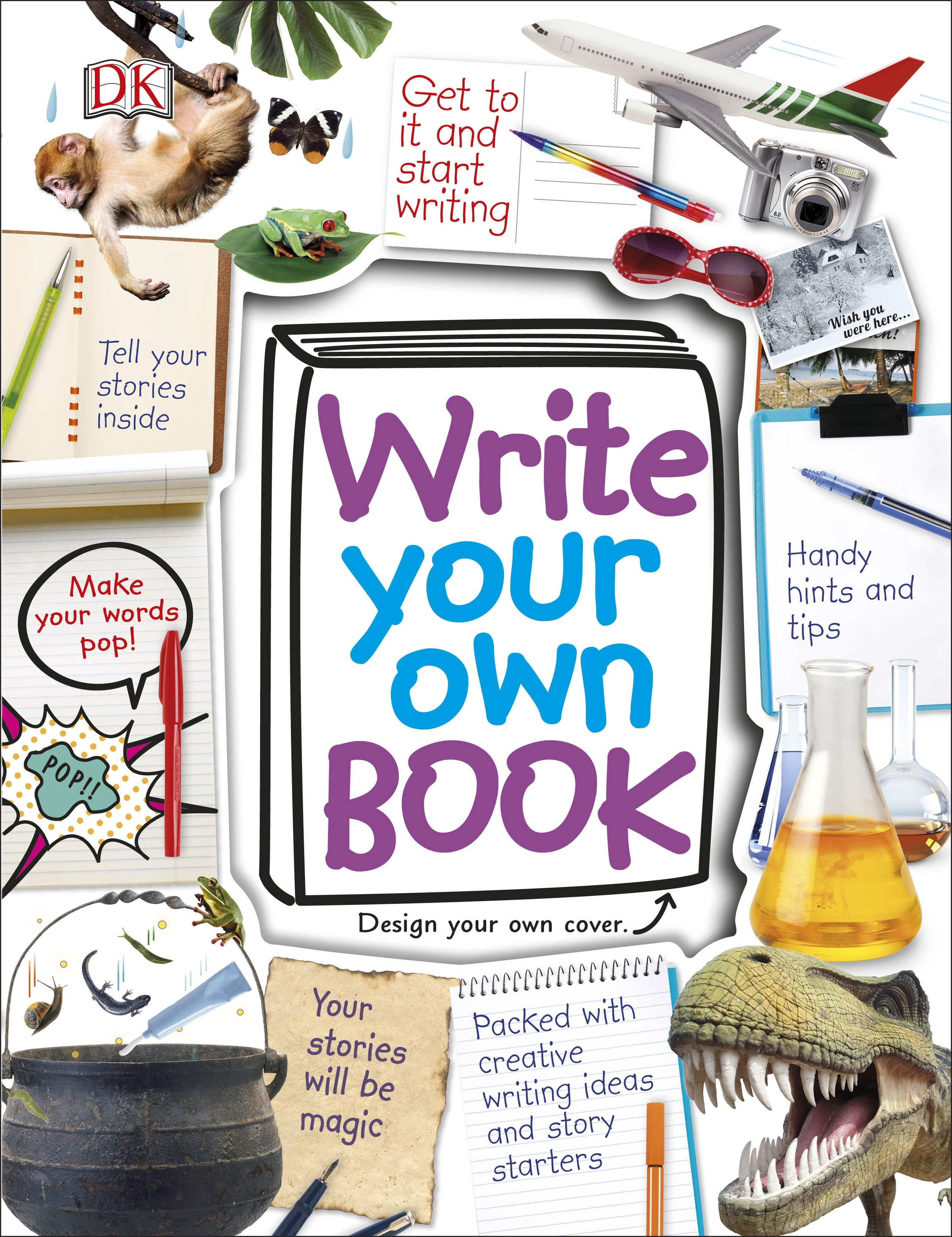 Penguin Book Cover Make Your Own ~ Write your own book by dk penguin books australia