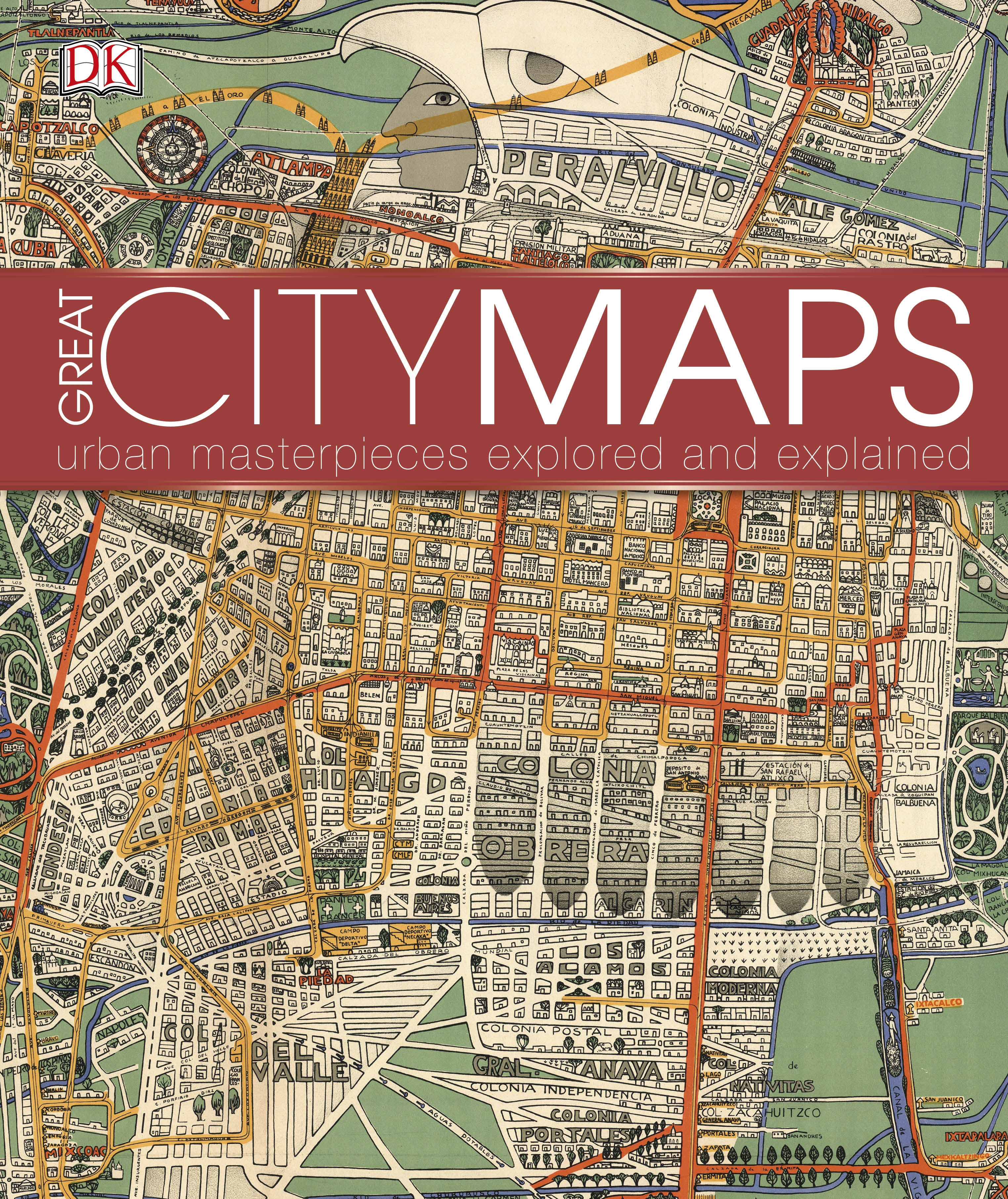 Great city maps by dk penguin books australia great city maps gumiabroncs Gallery