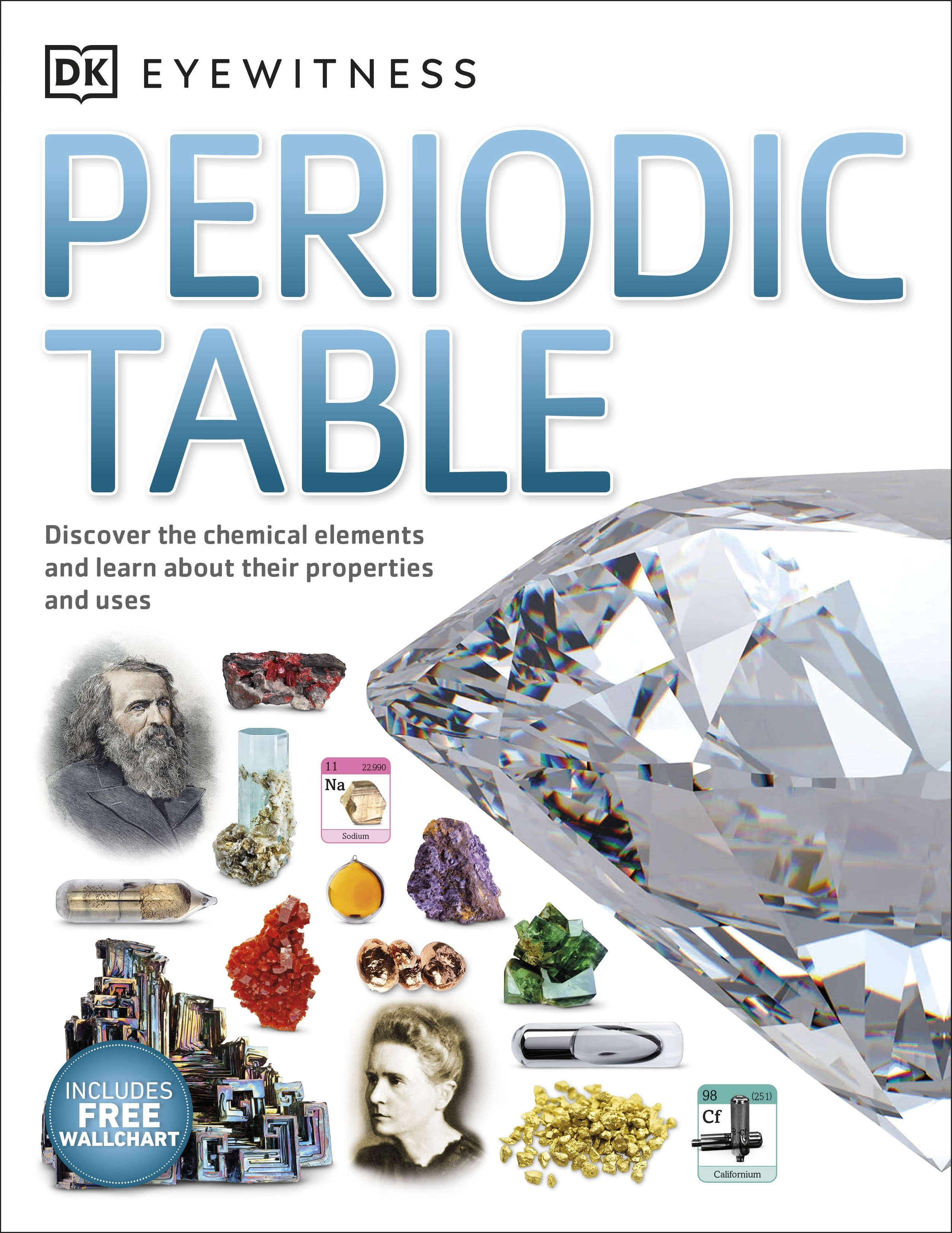 Eyewitness periodic table by dk penguin books australia eyewitness periodic table urtaz Choice Image