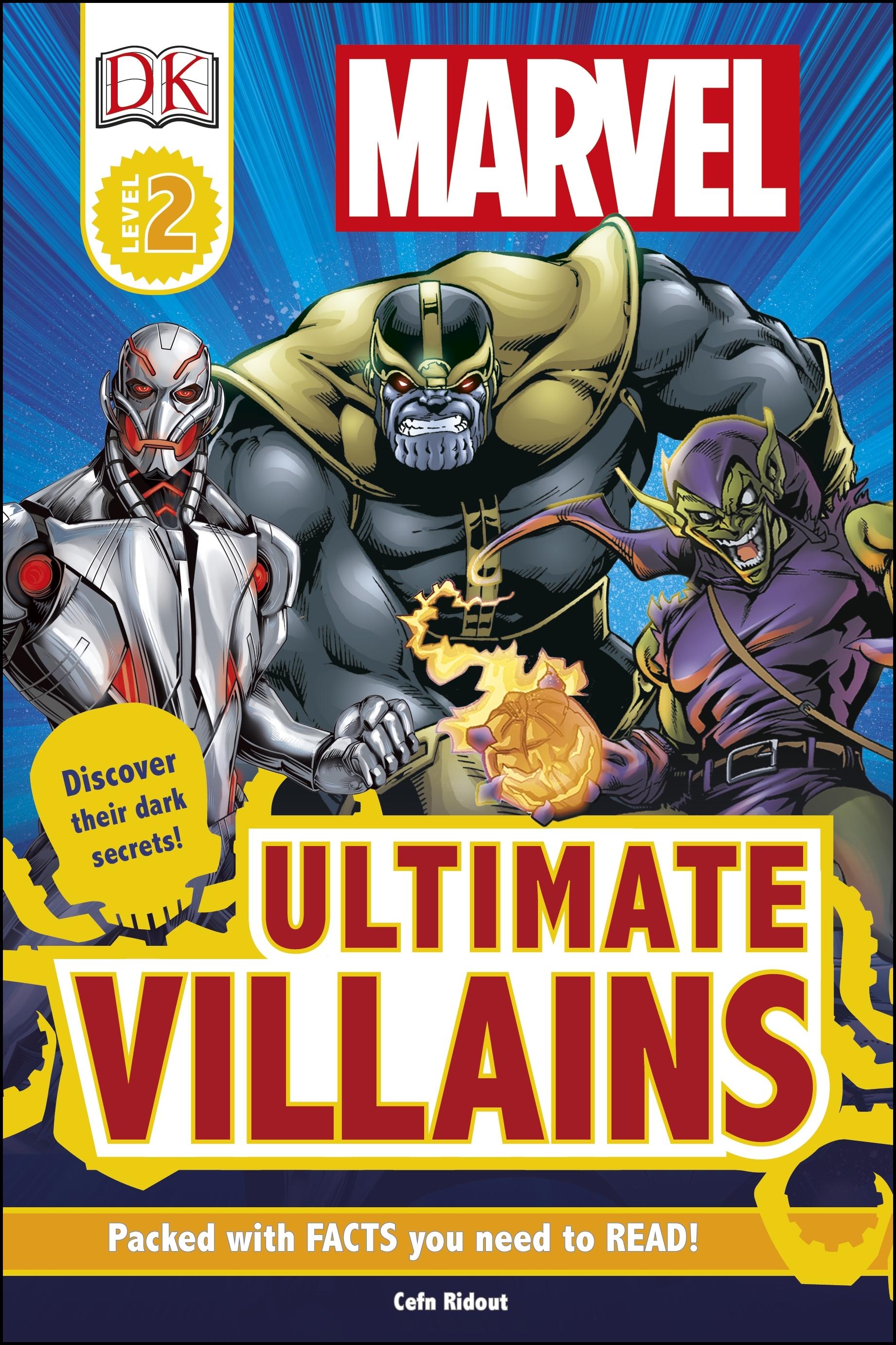 DK Reader: Marvel: Ultimate Villains by DK - Penguin Books