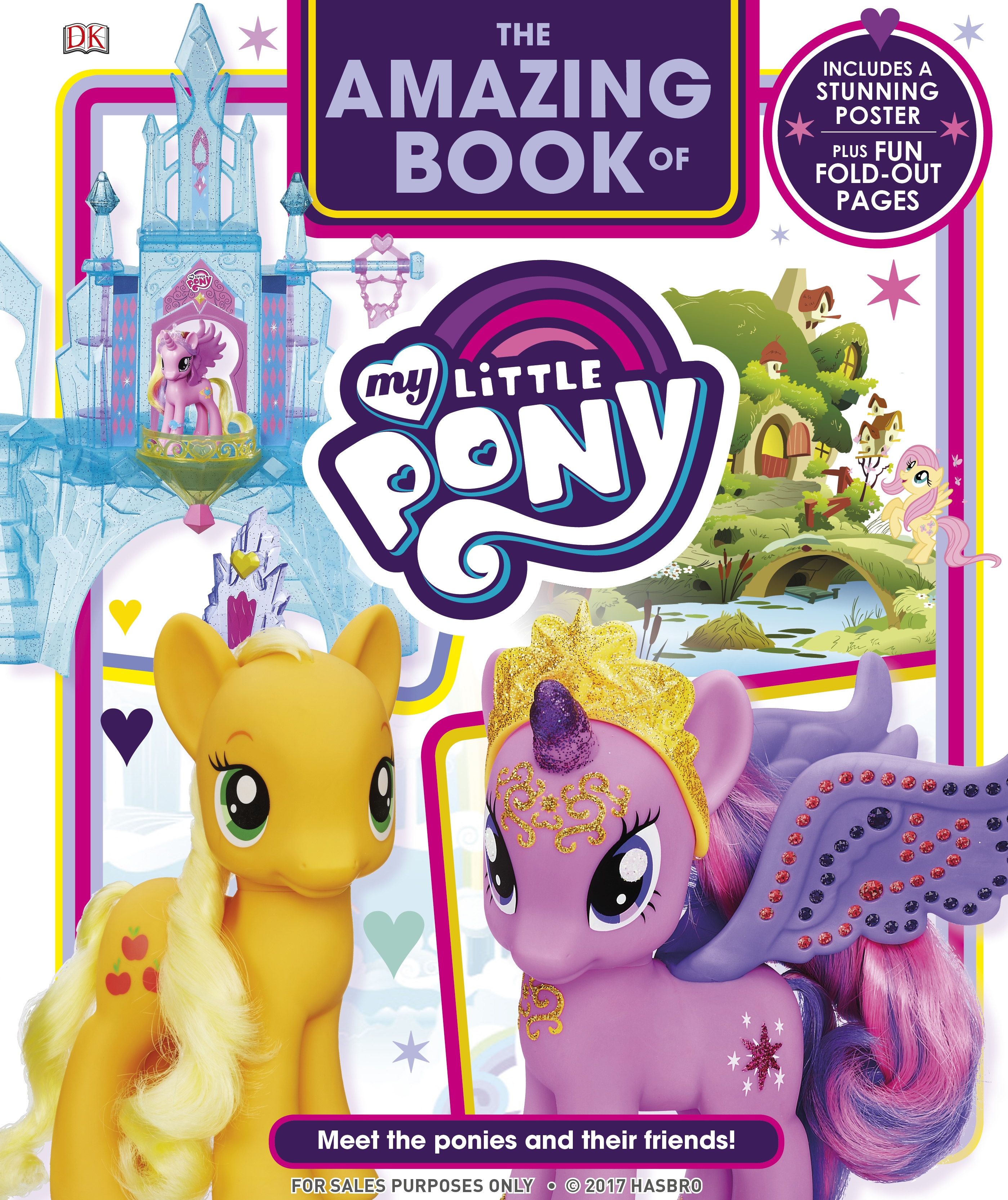 the amazing book of my little pony by dk penguin books australia. Black Bedroom Furniture Sets. Home Design Ideas
