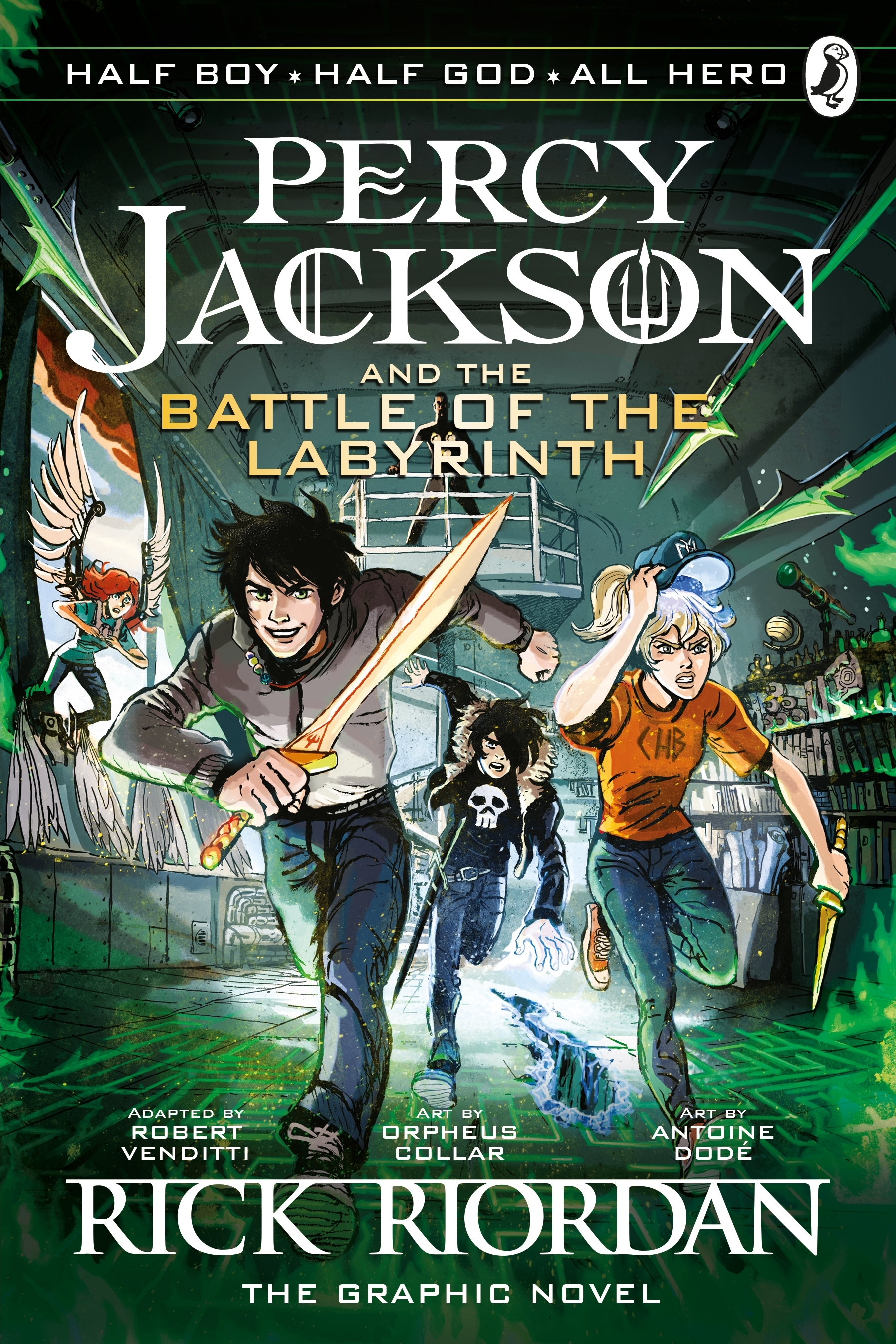 Image result for the battle of the labyrinth graphic novel book cover