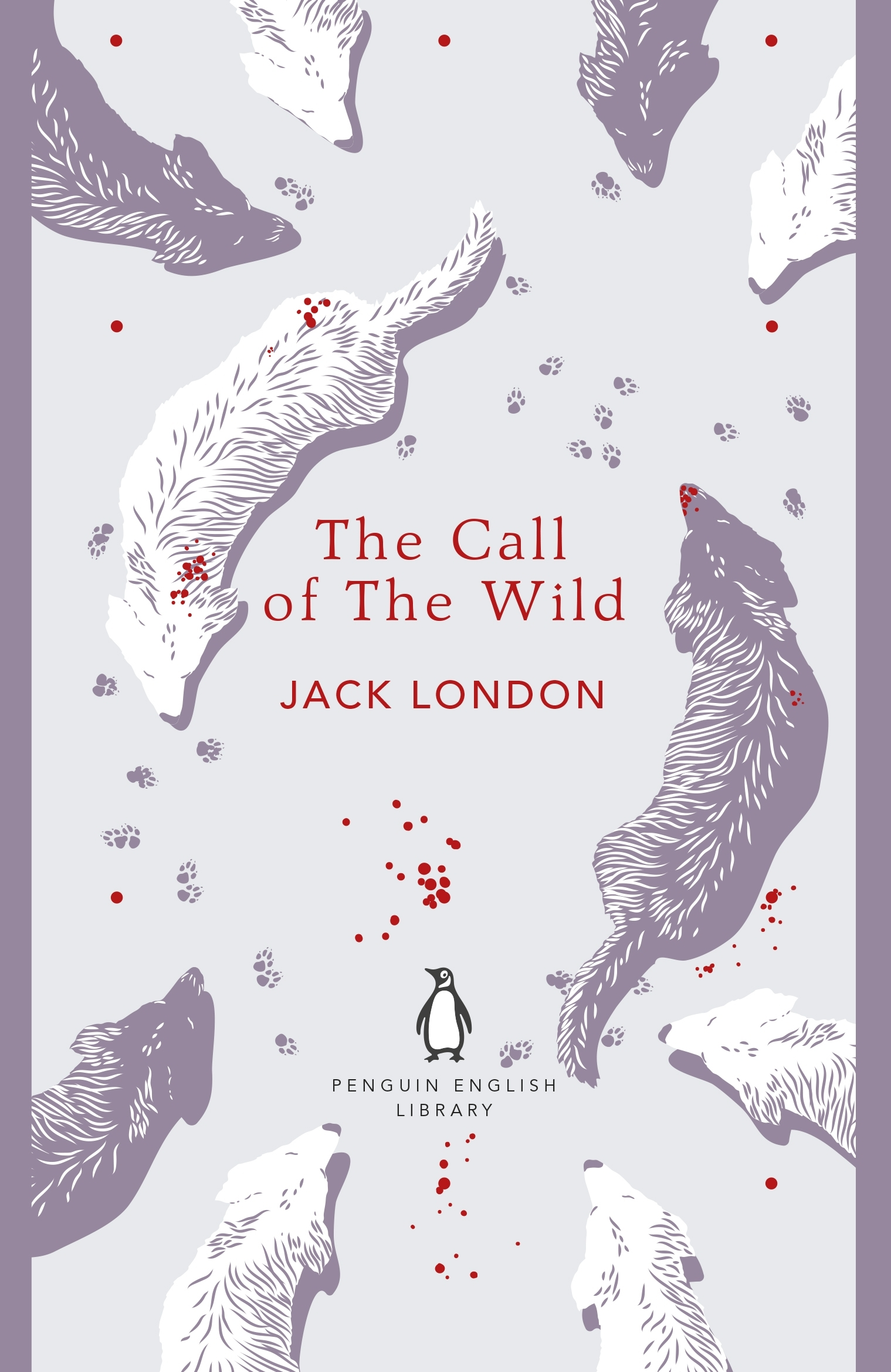 book cover for the call of the wild by jack london - book to film adaptation