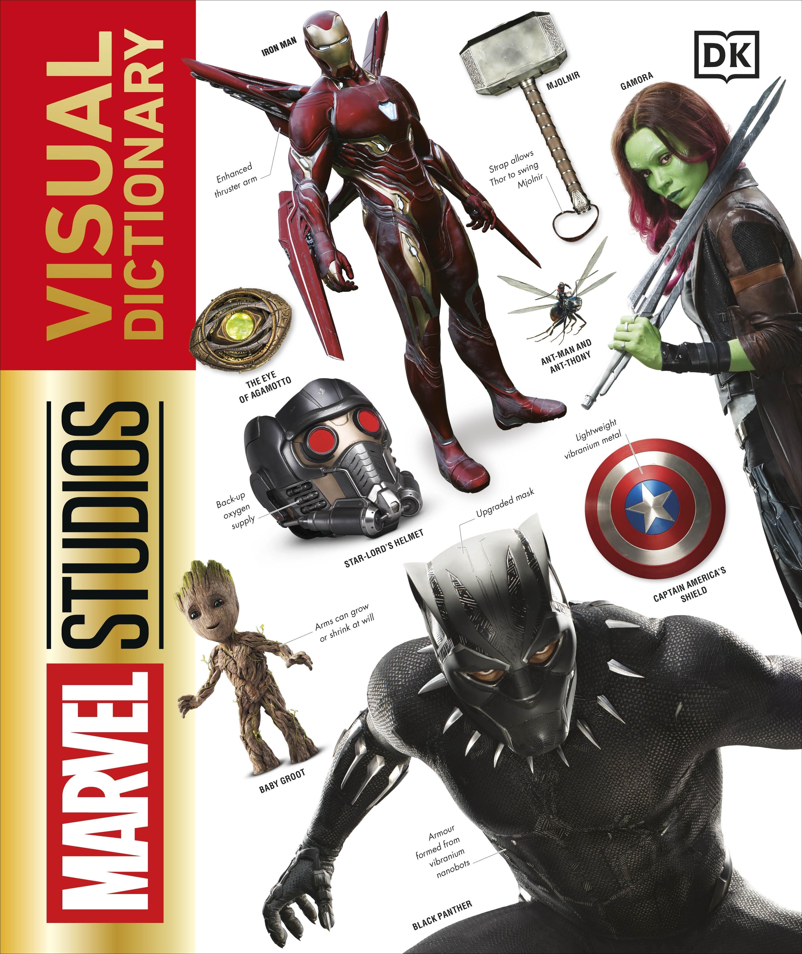 Marvel Studios: Marvel Studios Visual Dictionary By DK