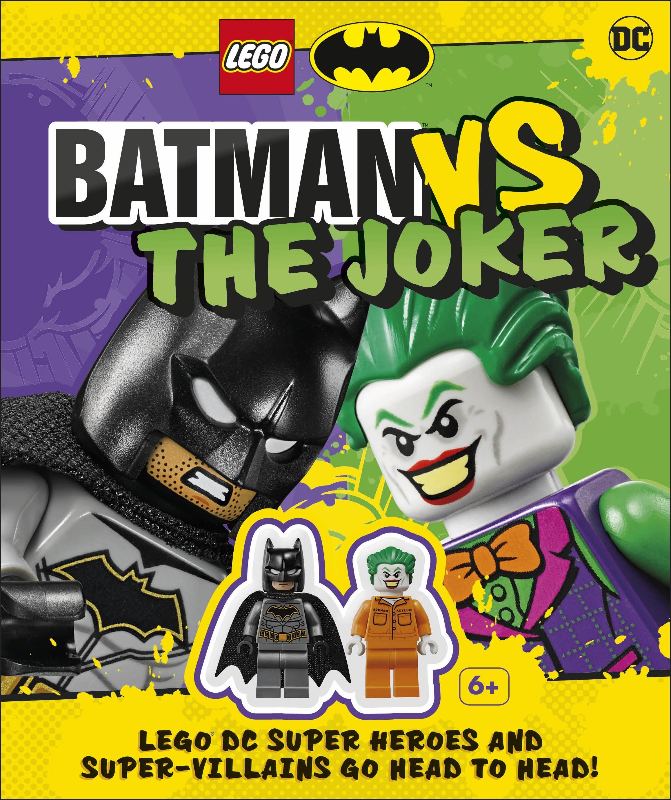 Lego Batman Batman Vs The Joker By Julia March Penguin Books Australia