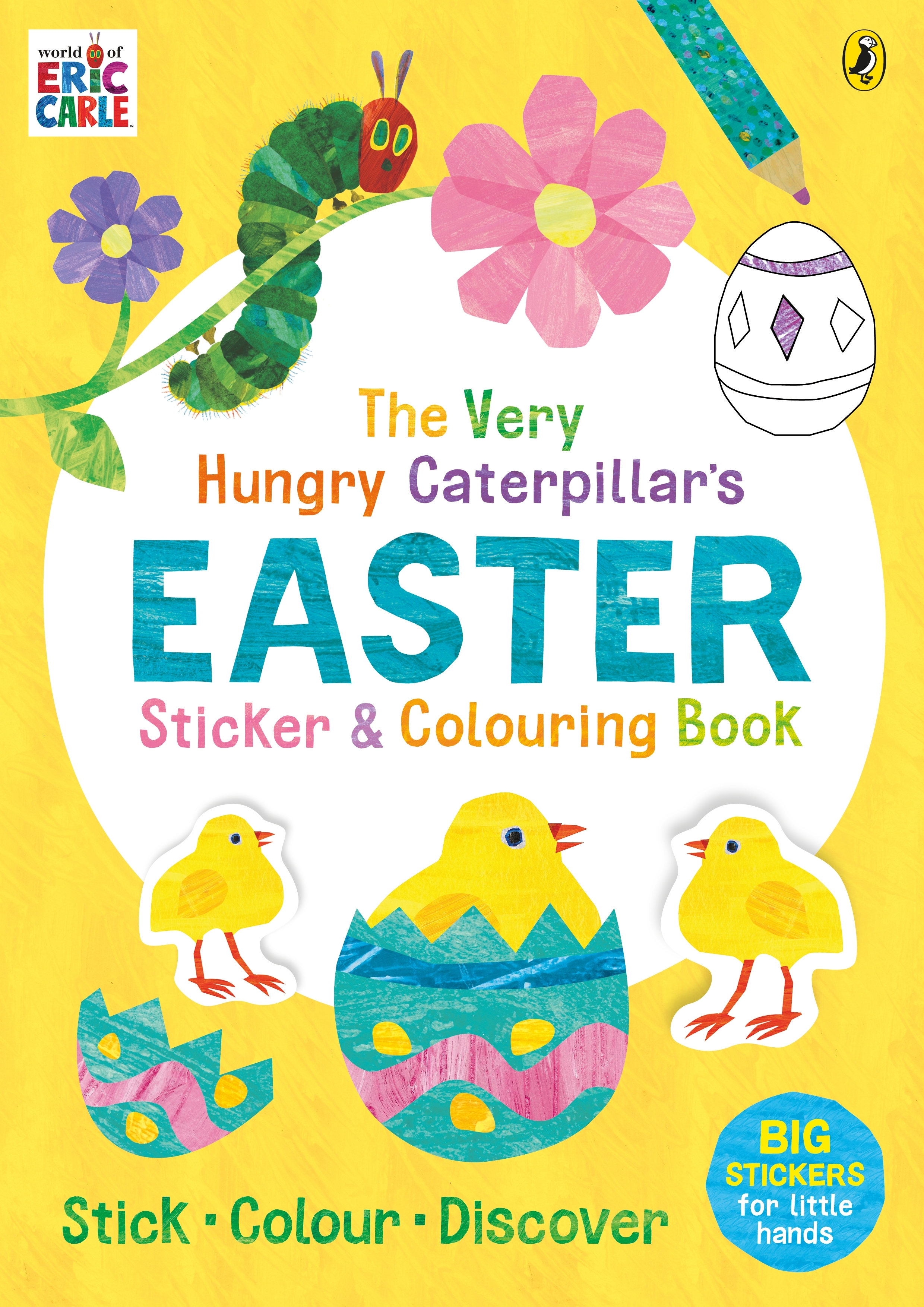 - The Very Hungry Caterpillar's Easter Sticker And Colouring Book By