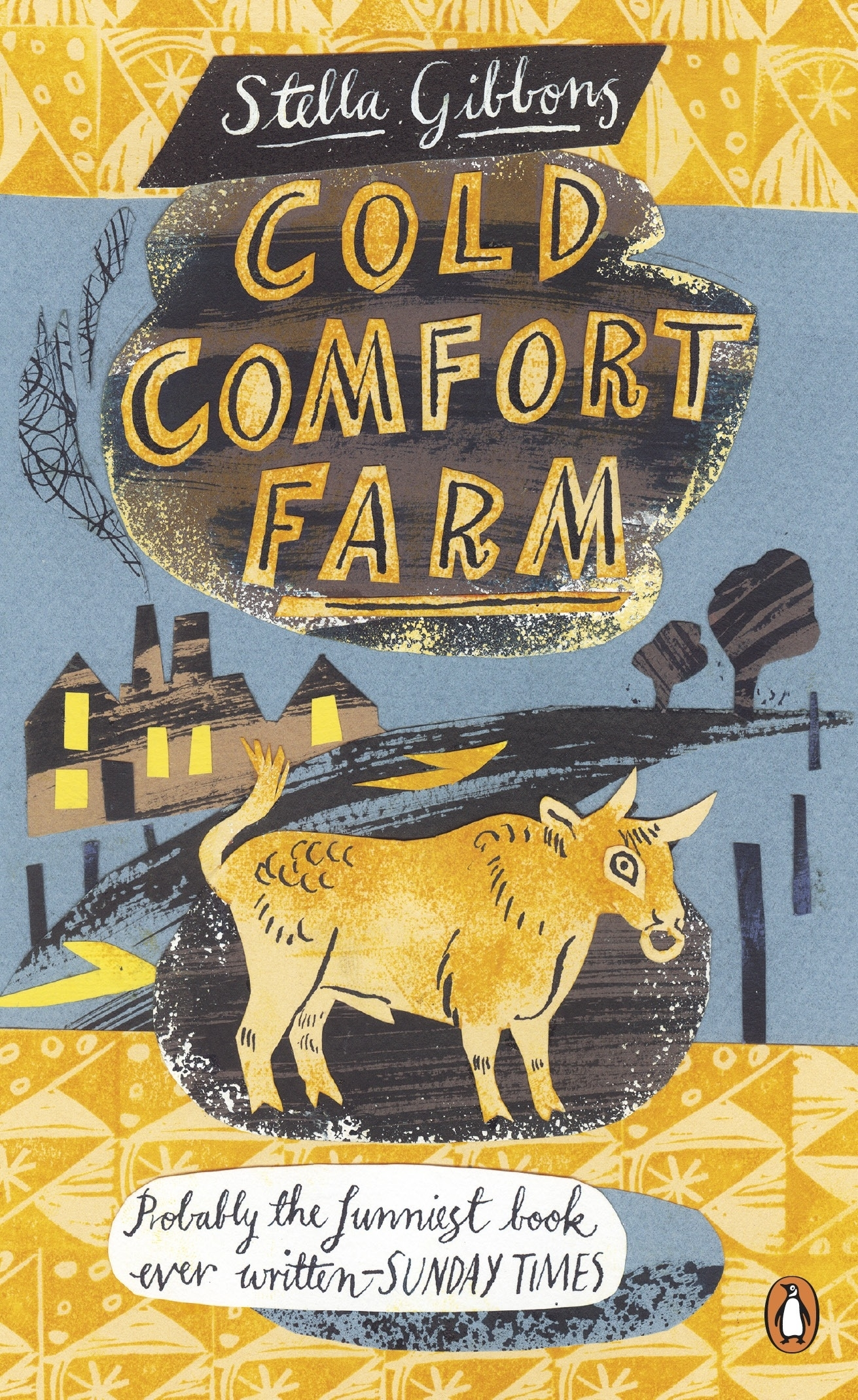 Image result for cold comfort farm book cover