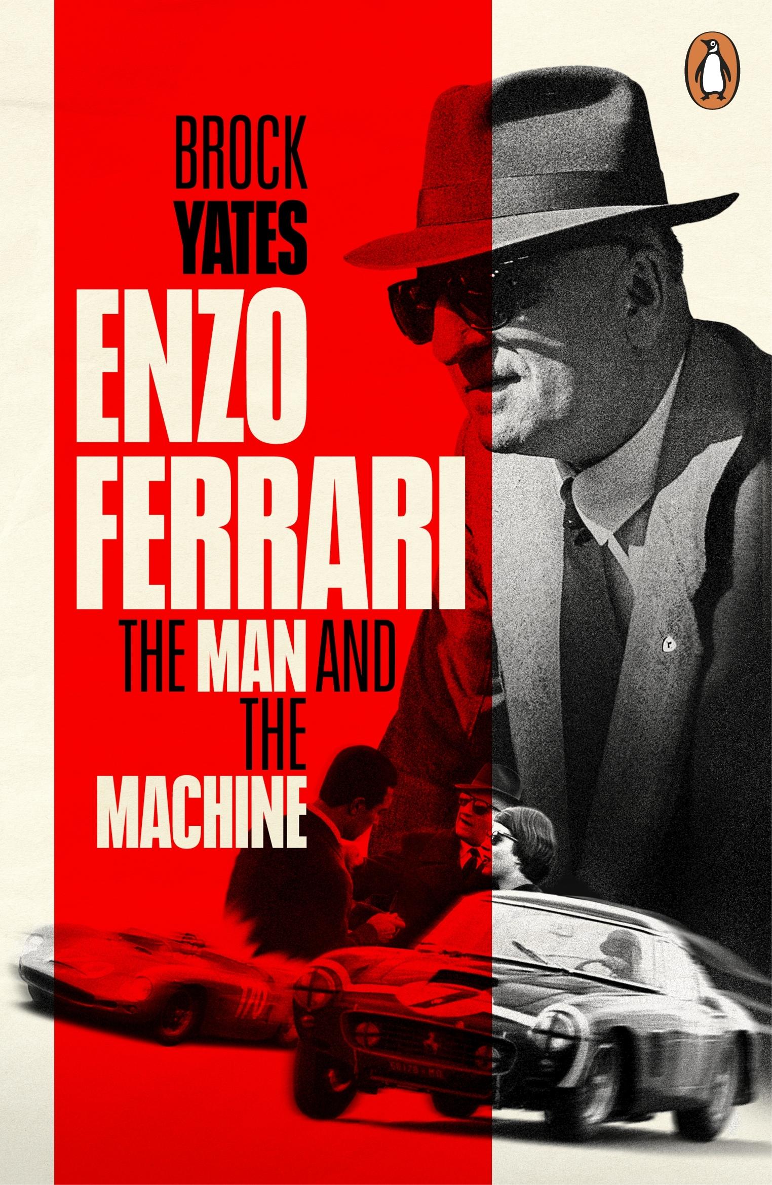 Enzo Ferrari By Brock Yates Penguin Books New Zealand