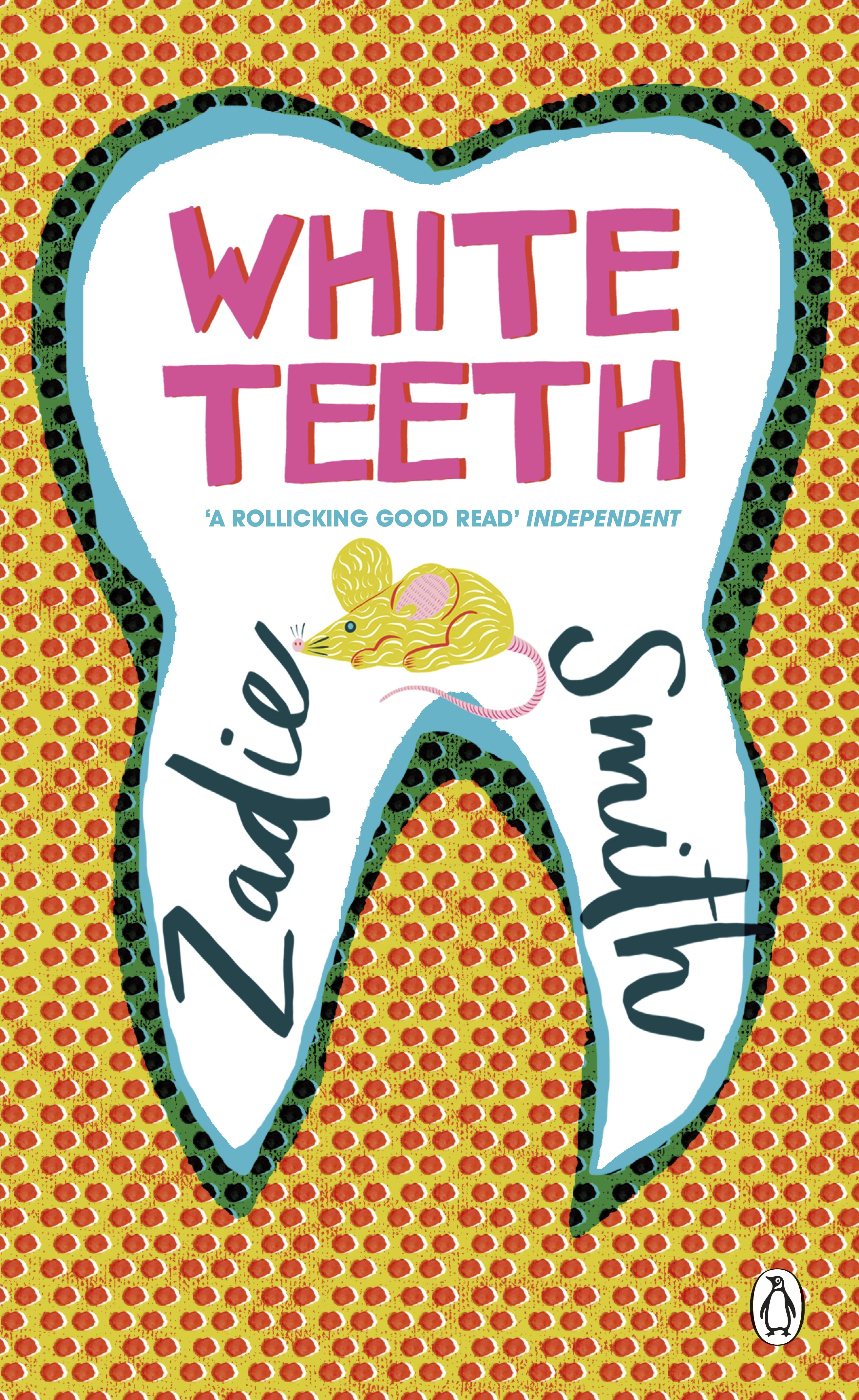 White Teeth Book Cover : White teeth penguin essentials by zadie smith