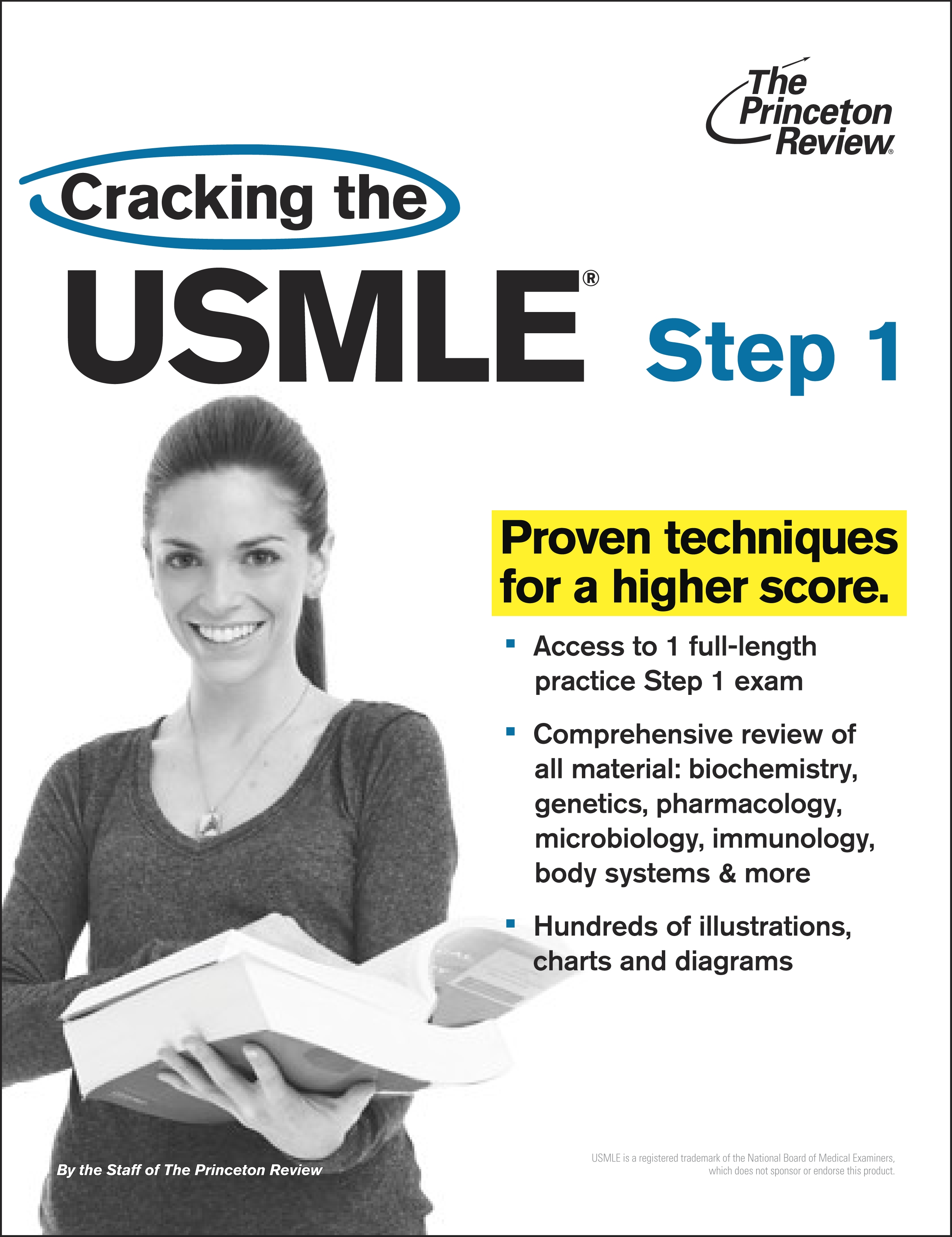 Cracking The Usmle, Step 1 by Princeton Review - Penguin Books New