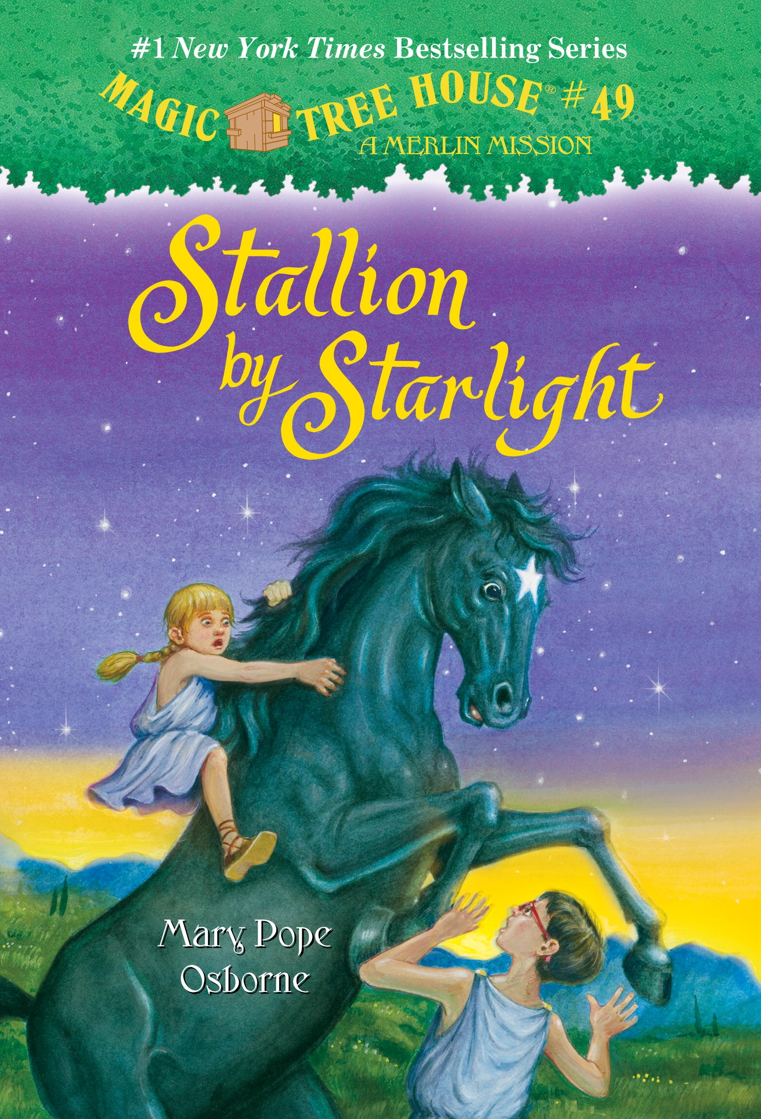Who Wrote The Magic Treehouse Series Part - 41: Magic Tree House #49 Stallion By Starlight
